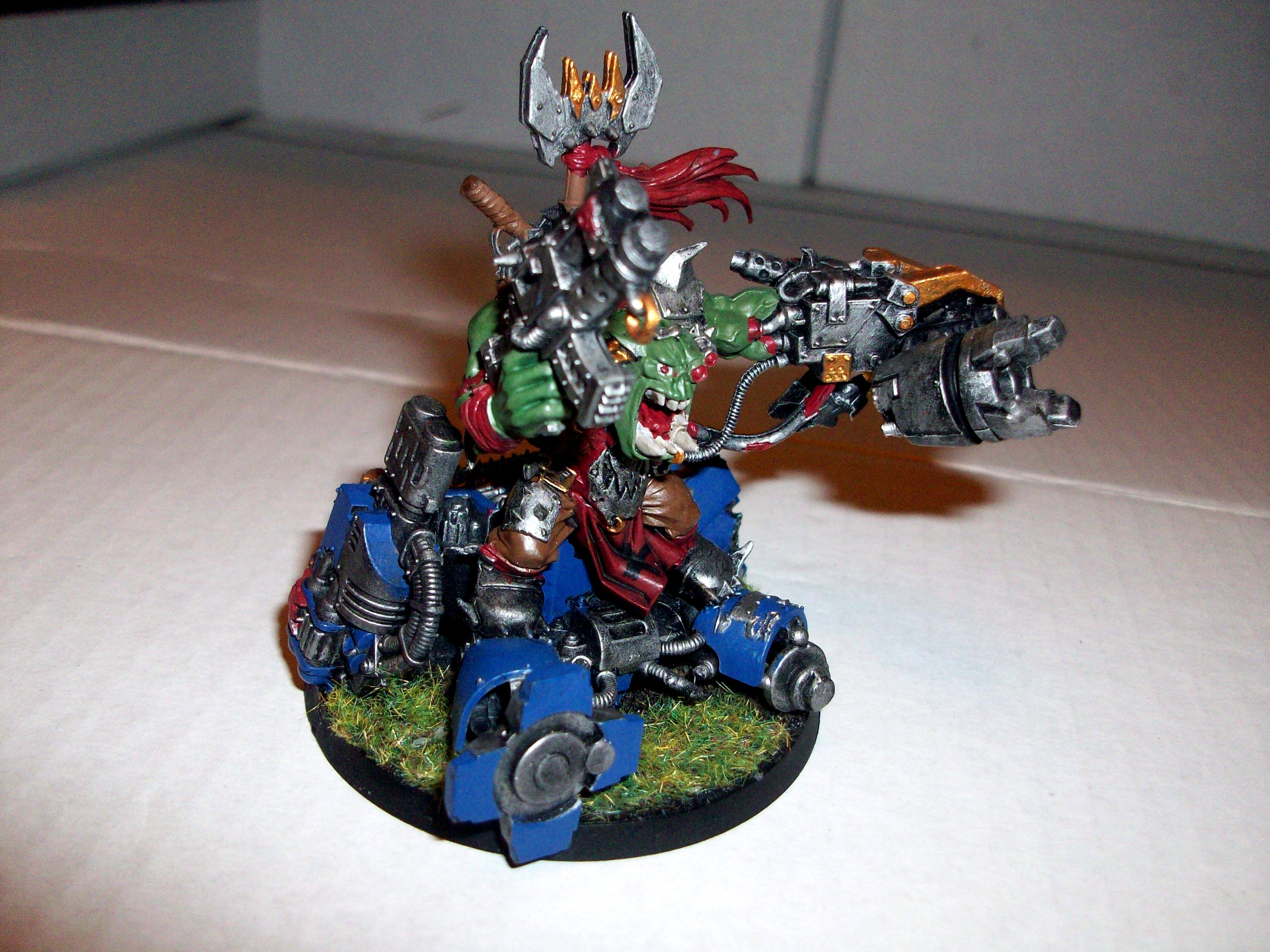 Conversion, Dreadnought, First, Painted, Warboss