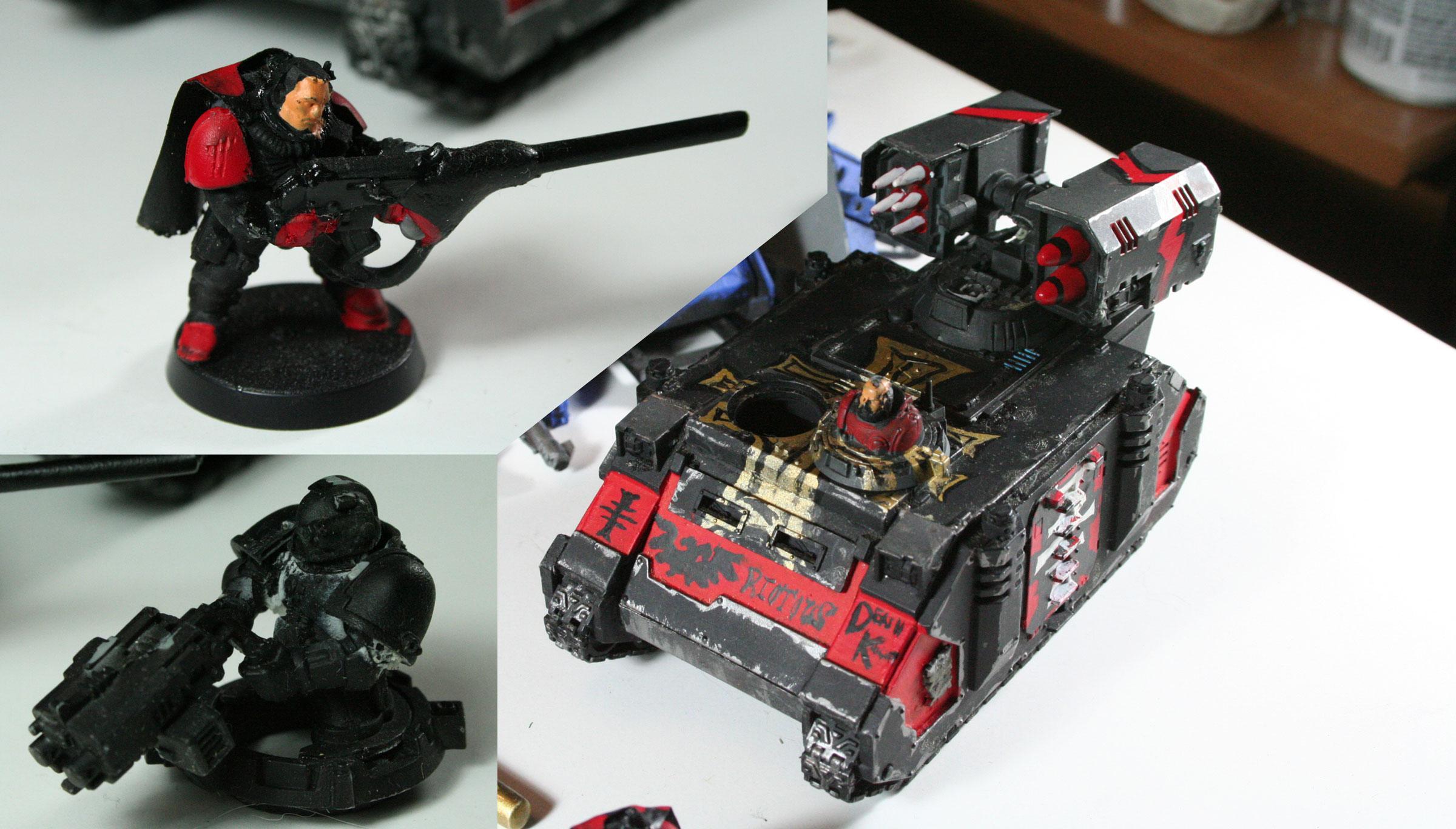 Ebay, Space Marines, Work In Progress, Wreck