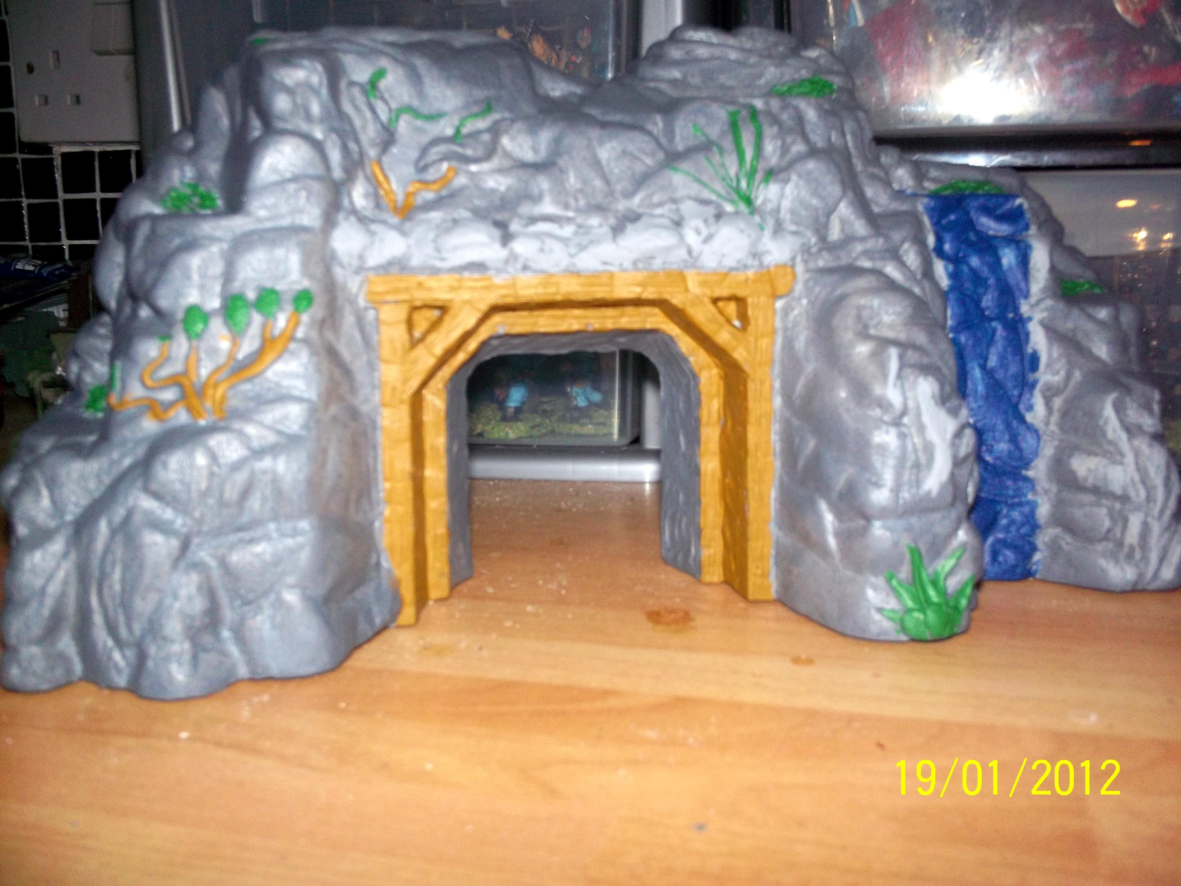 Cave, Dungeon, Mine, Terrain