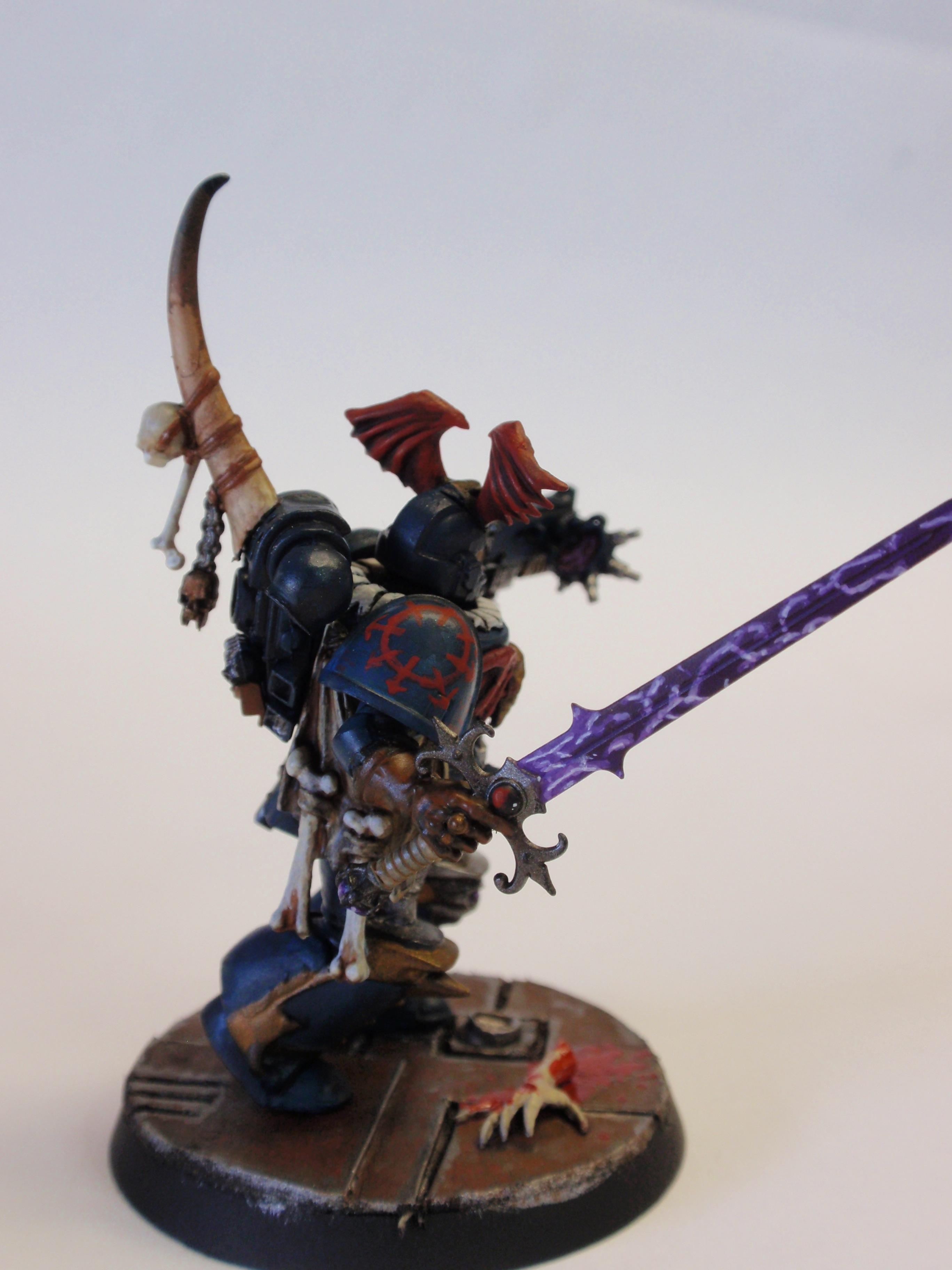 Night Lord, Night Lords, Space Marines, True-scale
