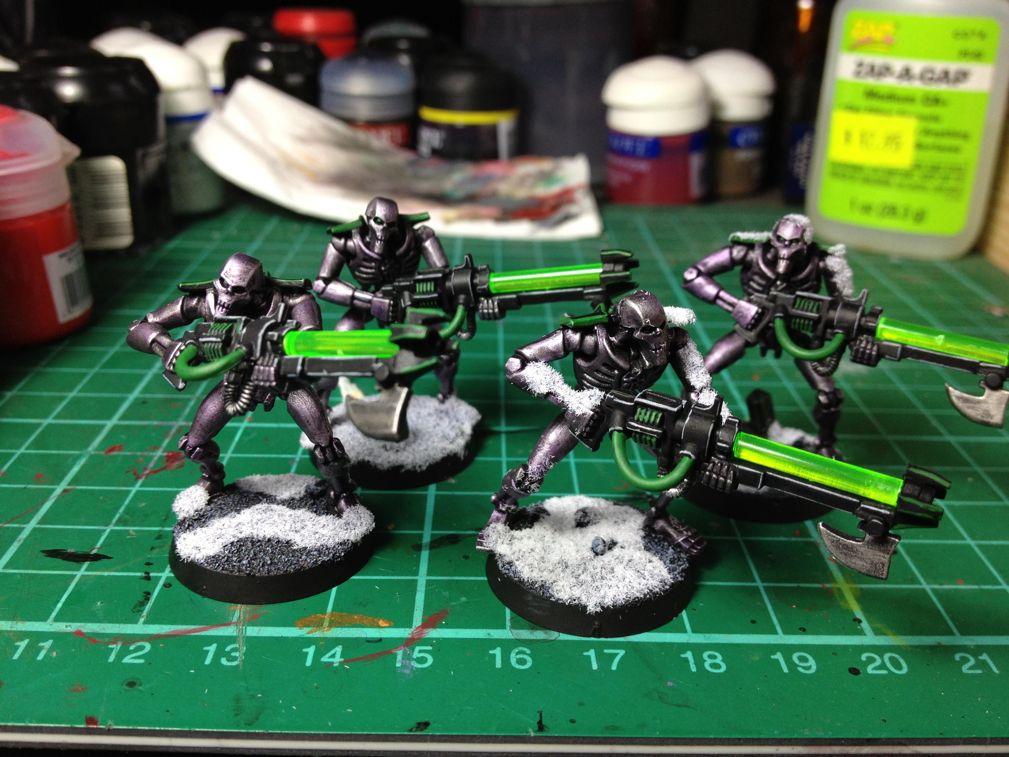 Using a purple wash - Most of my army is painted this way