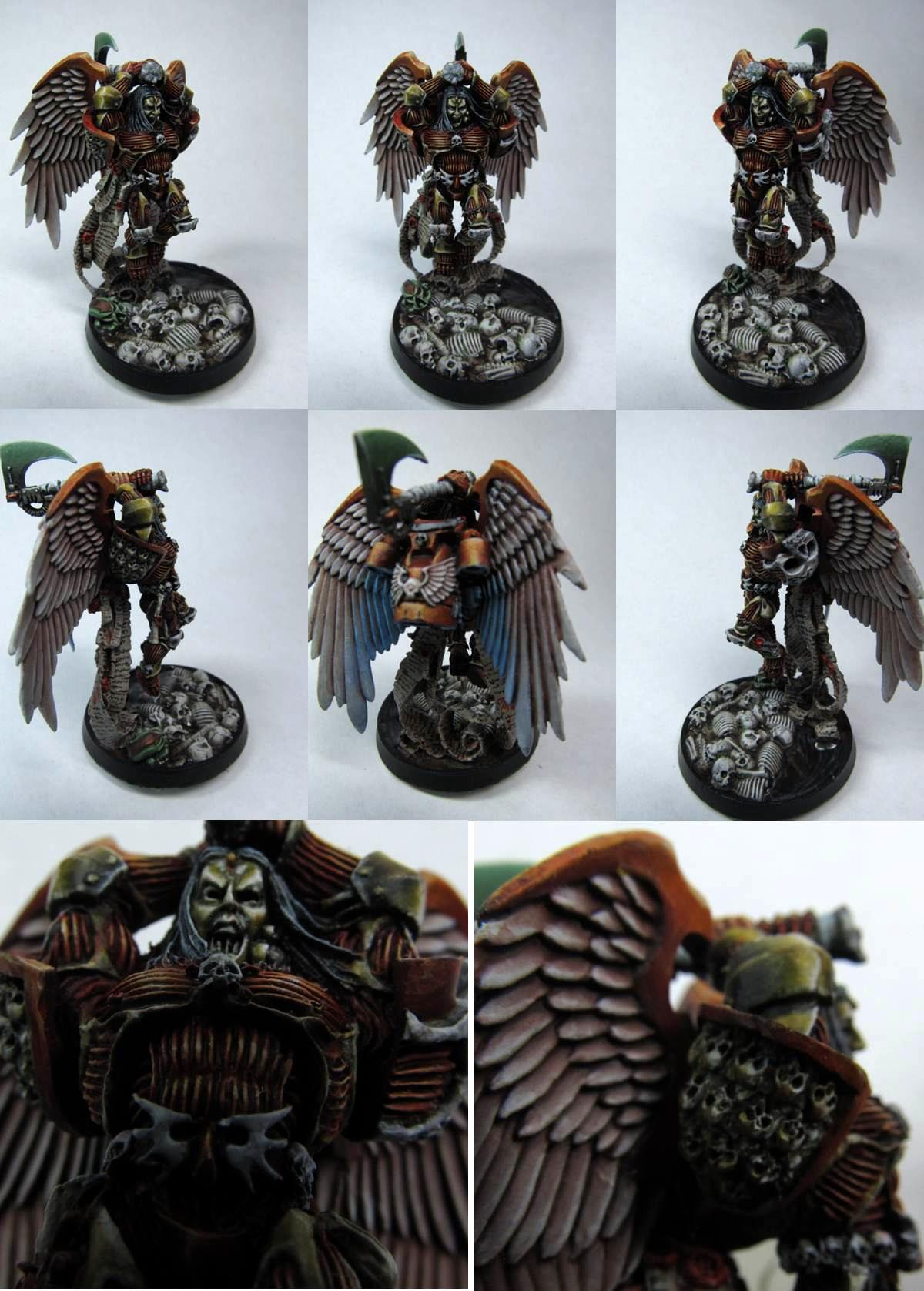 Astorath, Blood Angels, Skull, Winged