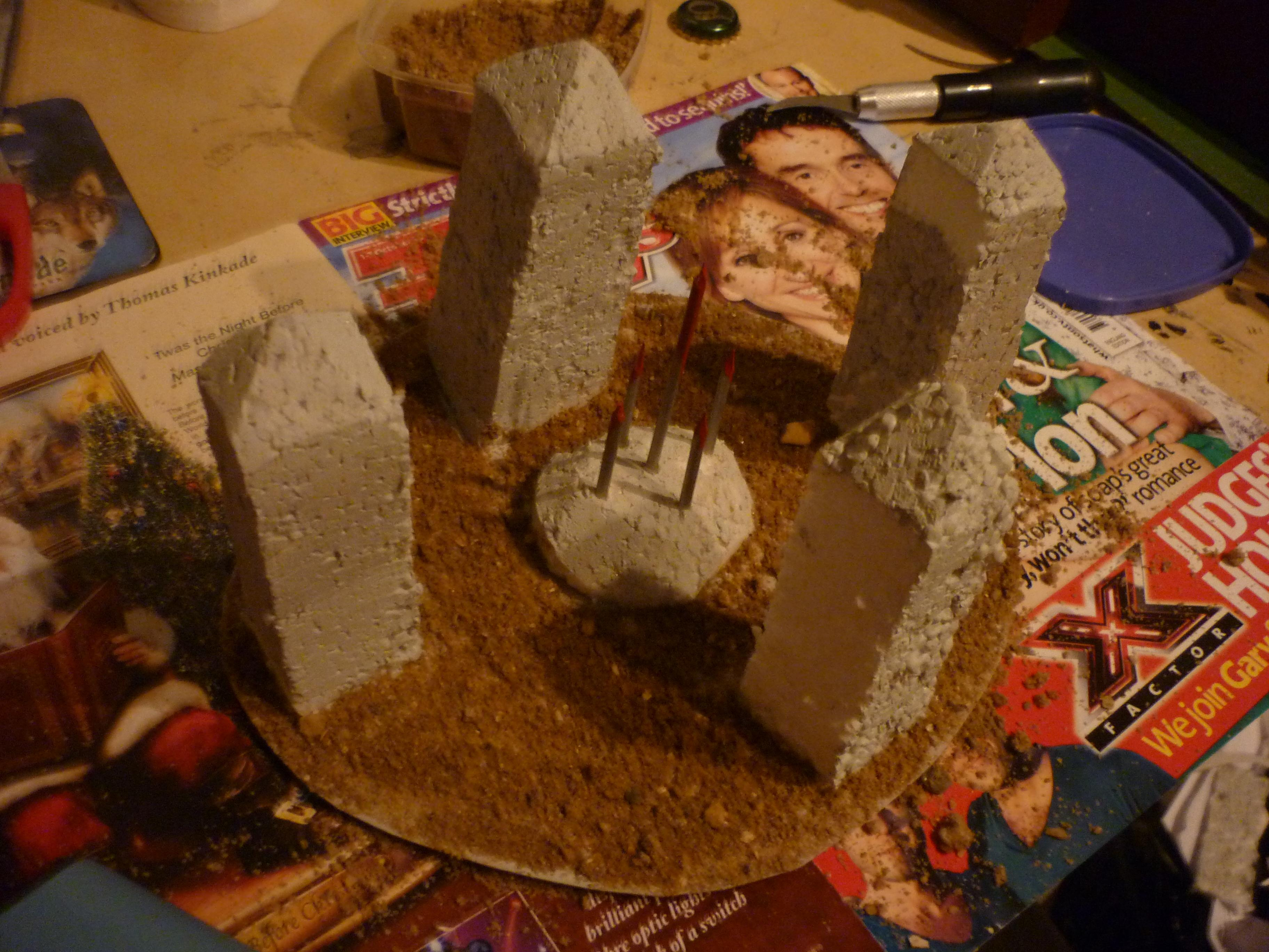 A sacrificial altar to the gods of Chaos WIP