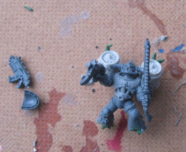 Assault Squad, Chaos, Chaos Space Marines, Night Lords, Raptors