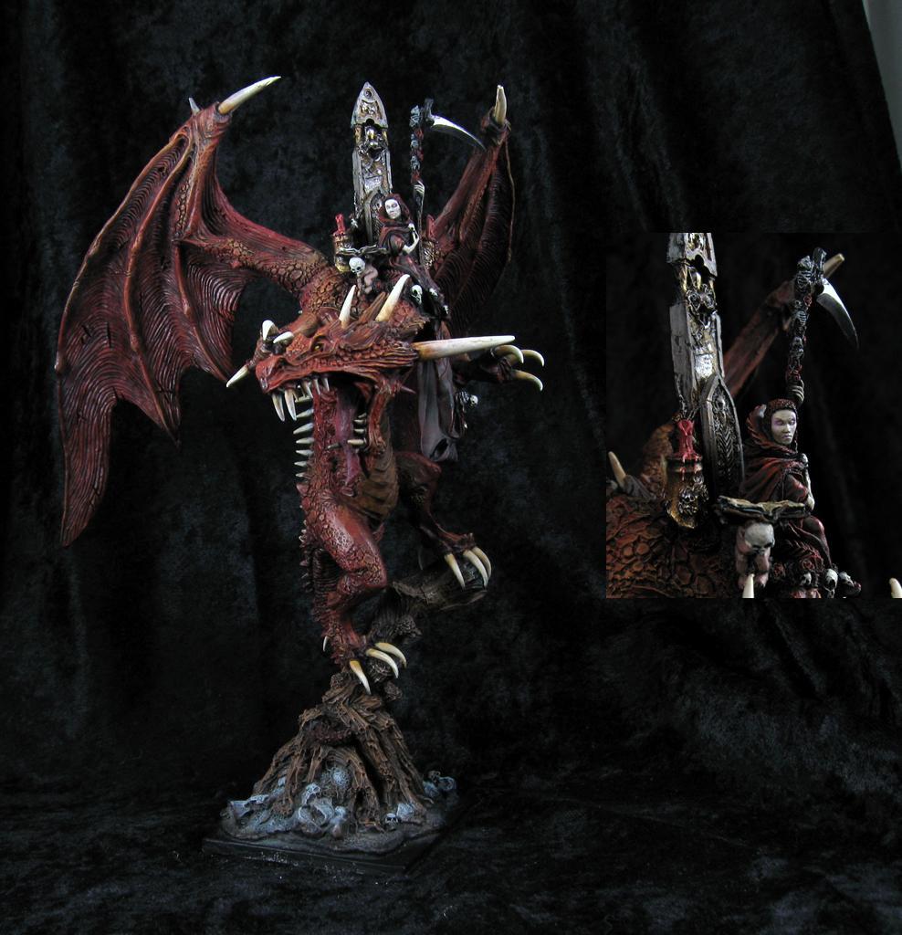 Carmine, Dragon, Draken, Elspeth, Forge World, On, Von, Warhammer Fantasy