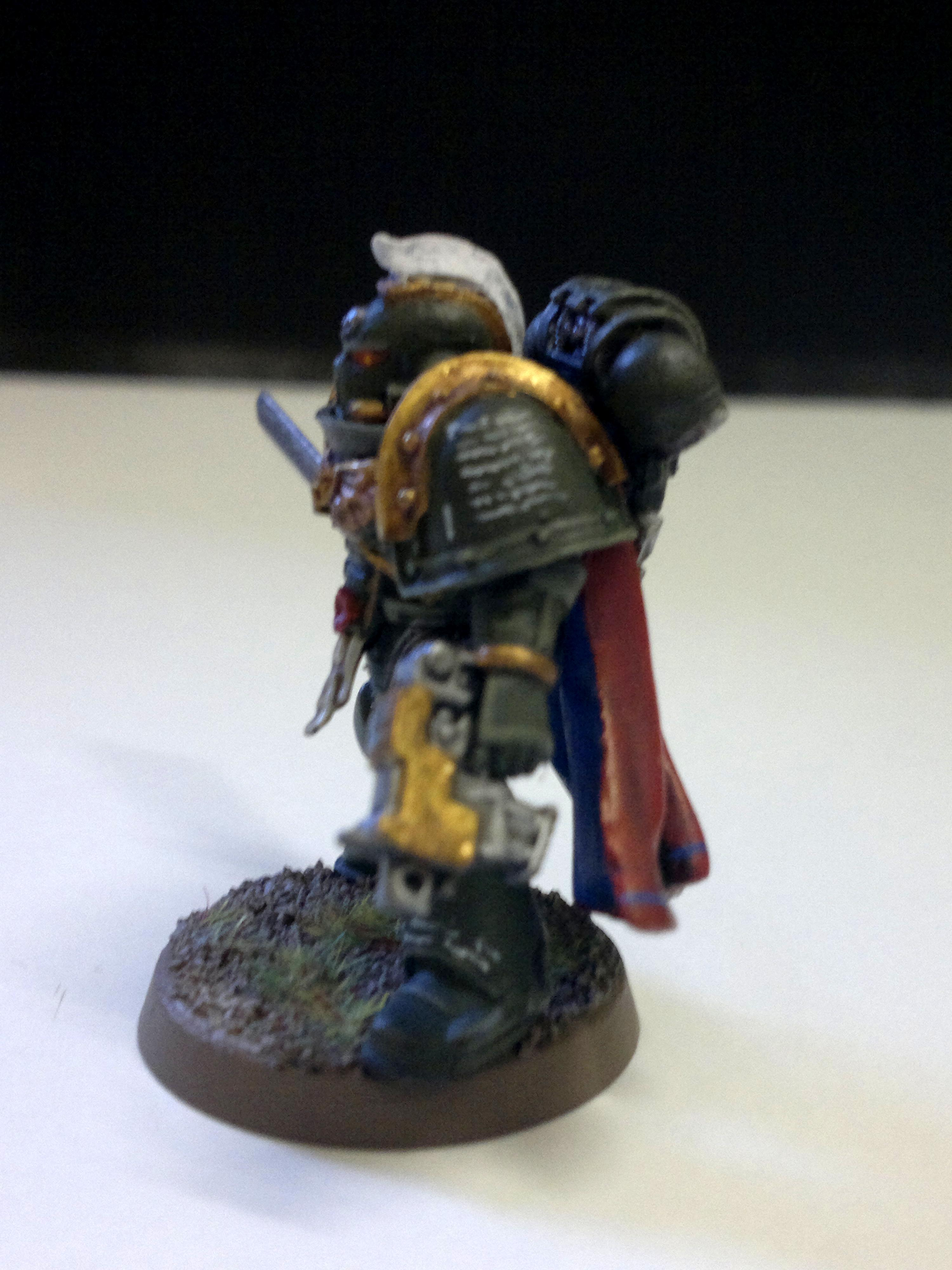 Chapter Champion, Imperial, Space Marine. Hounour Gaurd, Warhammer 40,000