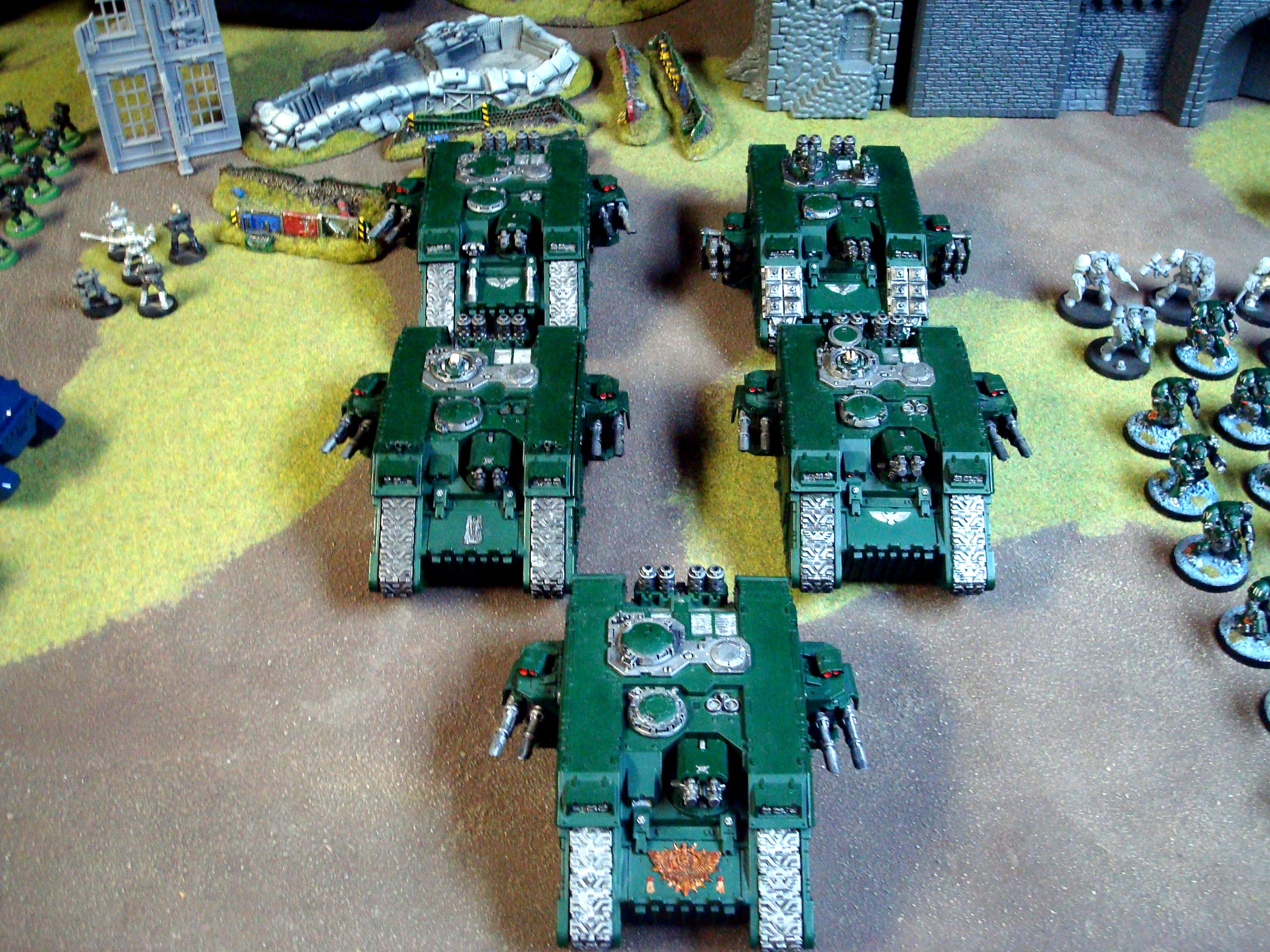 Dark Angels, Deathwing, Land Raider, Terminator Armor