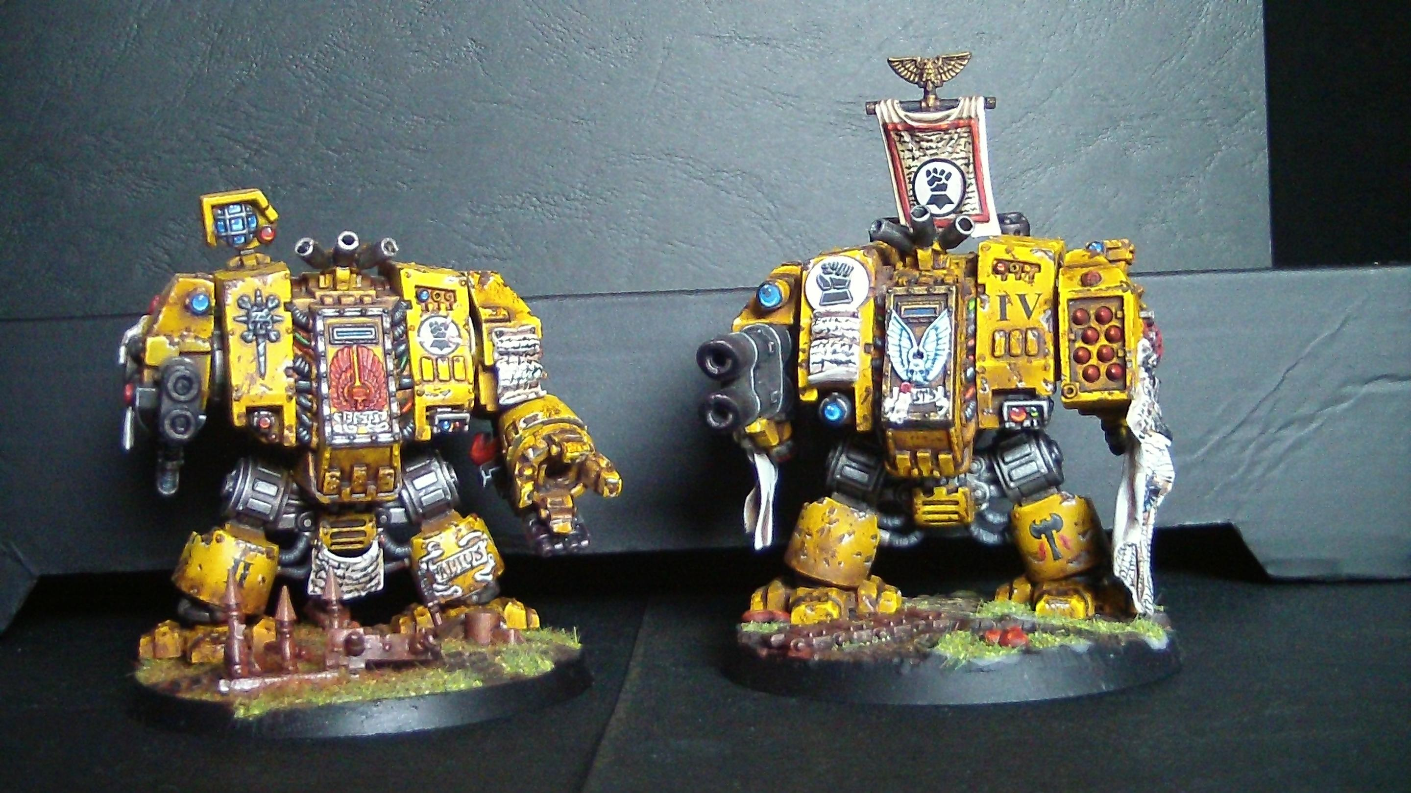 Imperial Fists Dreadnought 1&2