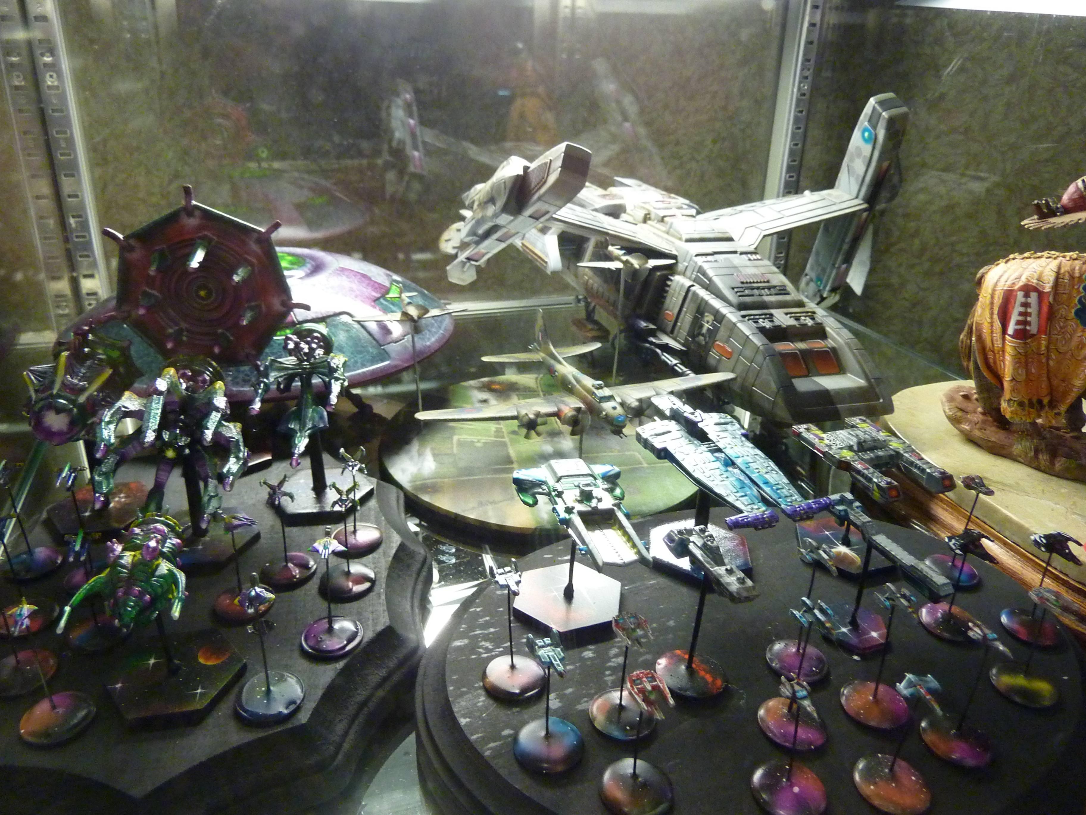 Babylon 5, Space Ships, Star Treck
