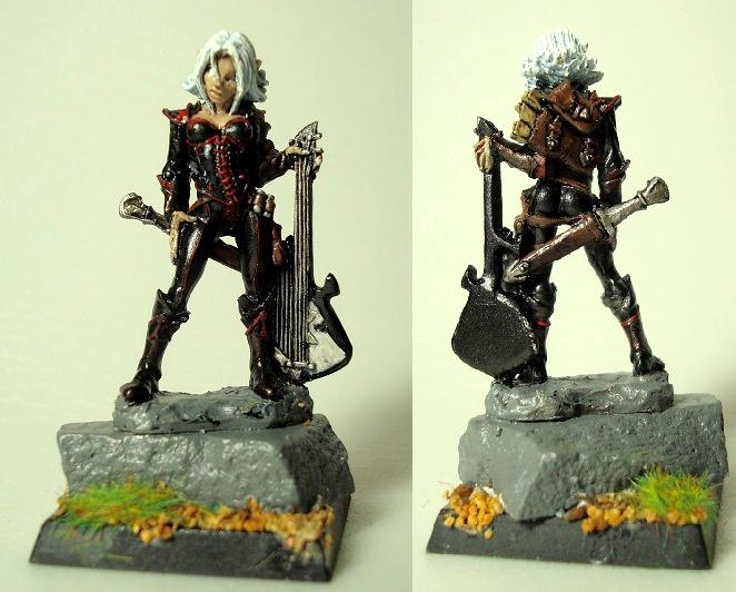 Bard, Dungeons And Dragons, Guitar, Woman
