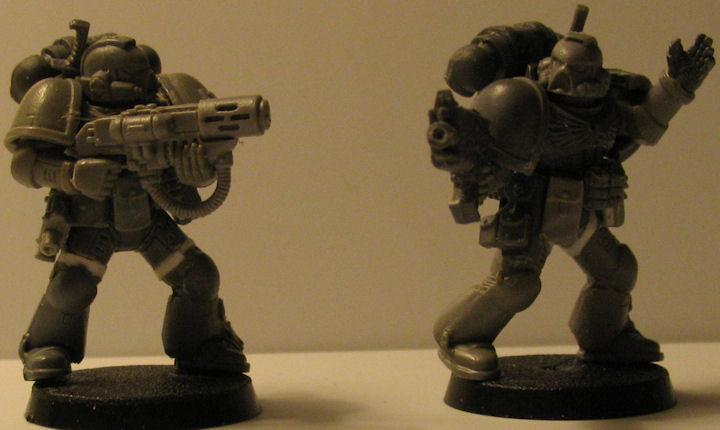 Space Marines, True Scale