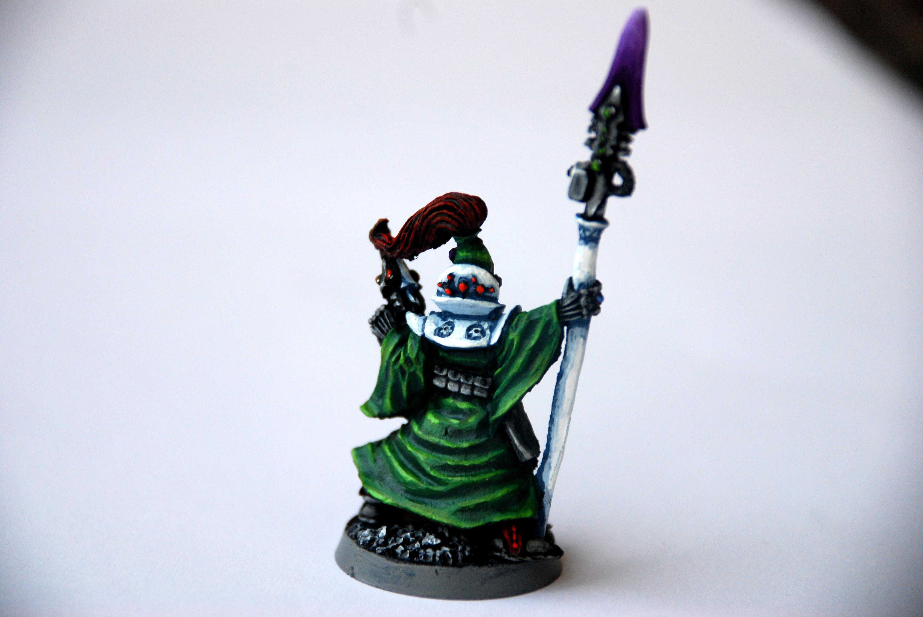 Eldar, Green, Headquarters, Spear, Troops, Warhammer 40,000, Warlock