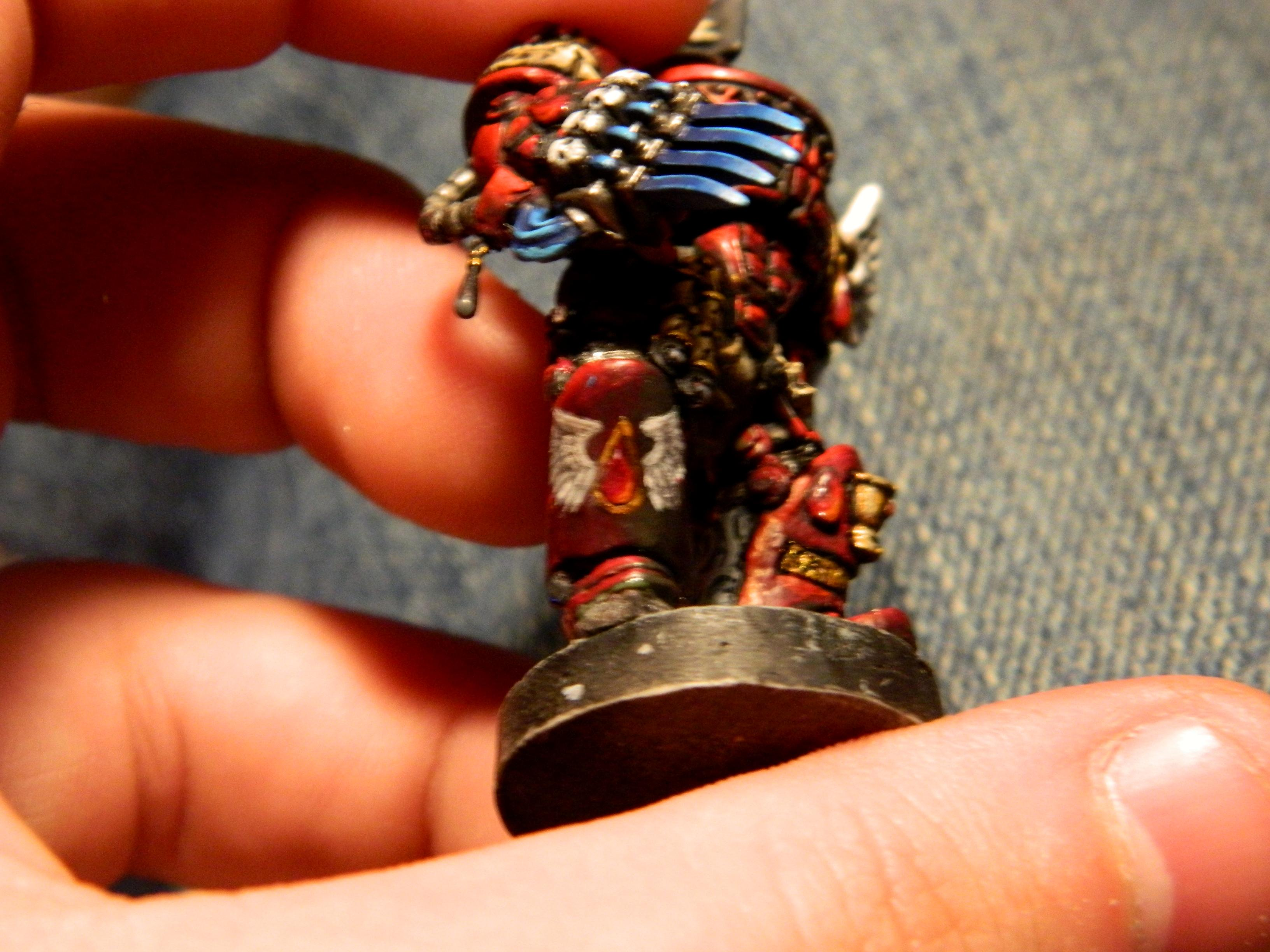 blood angels champion freehand