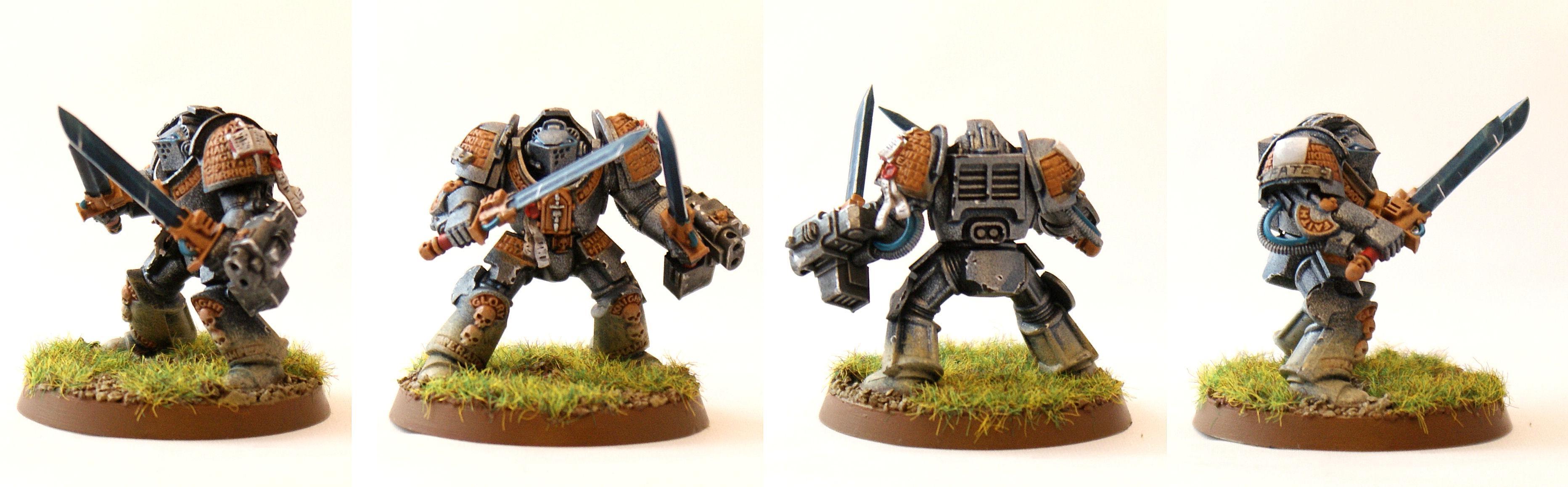 Falchions, Grey Knights, Terminator Armor