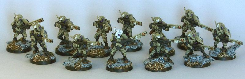 Fire Warriors, Tau, FW Squad