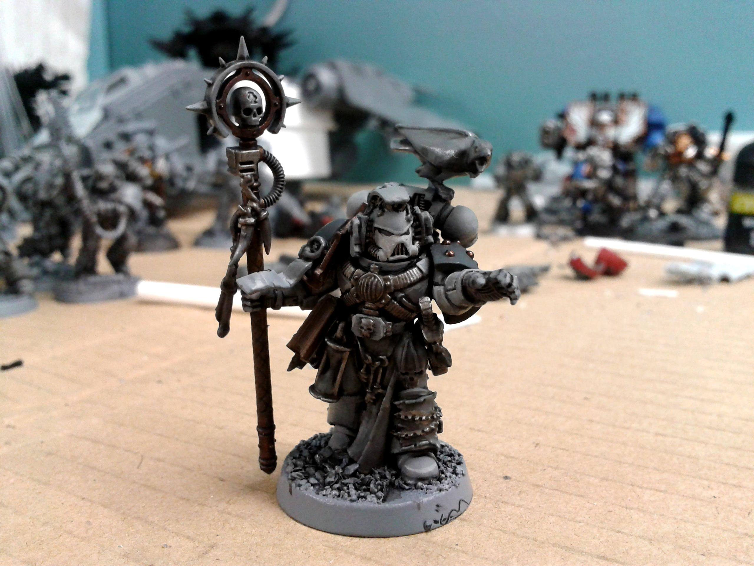 Caller Of The Slain, Librarian, Rune Priest, Space Wolves