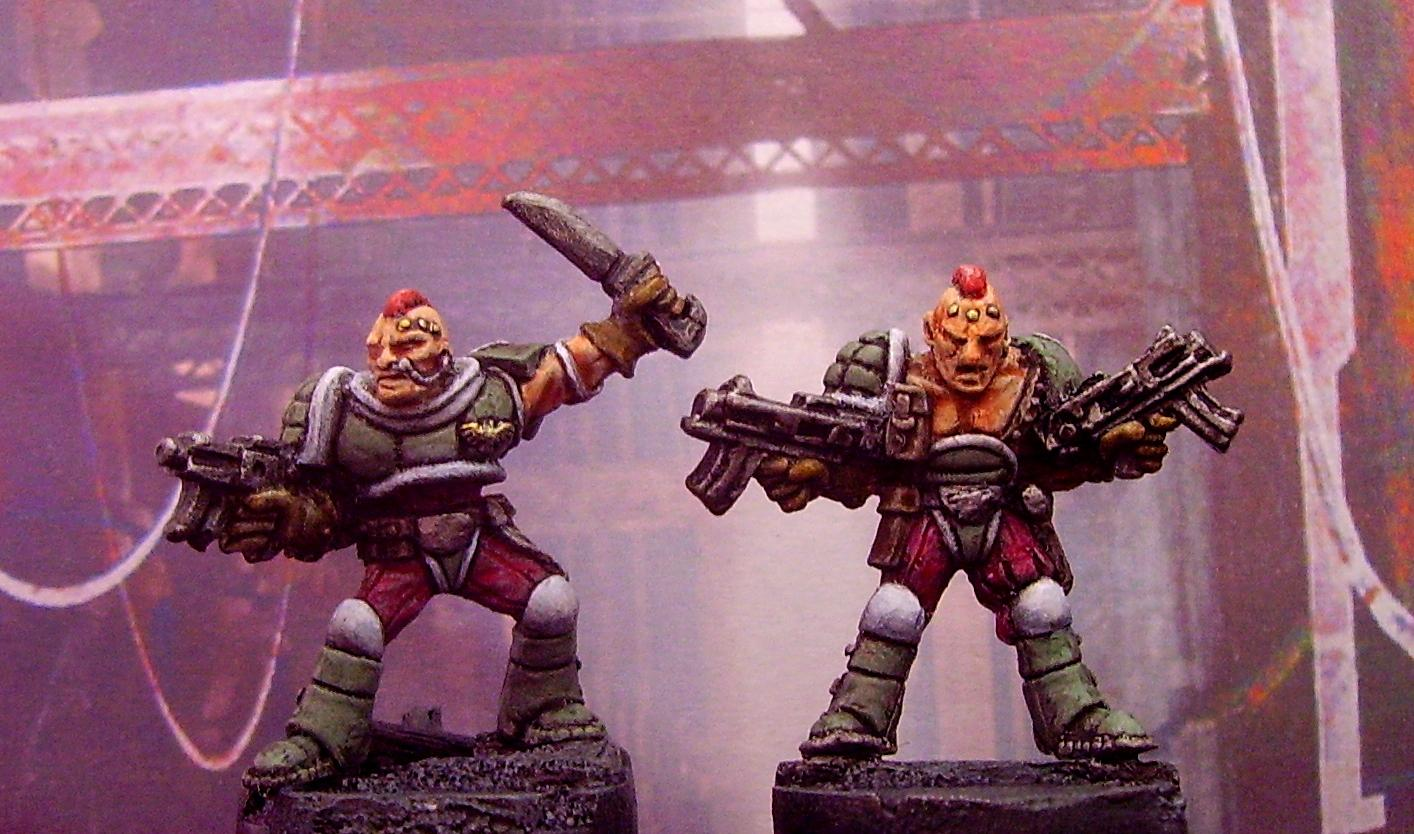 Rogue Trader, Scouts, Space Marines