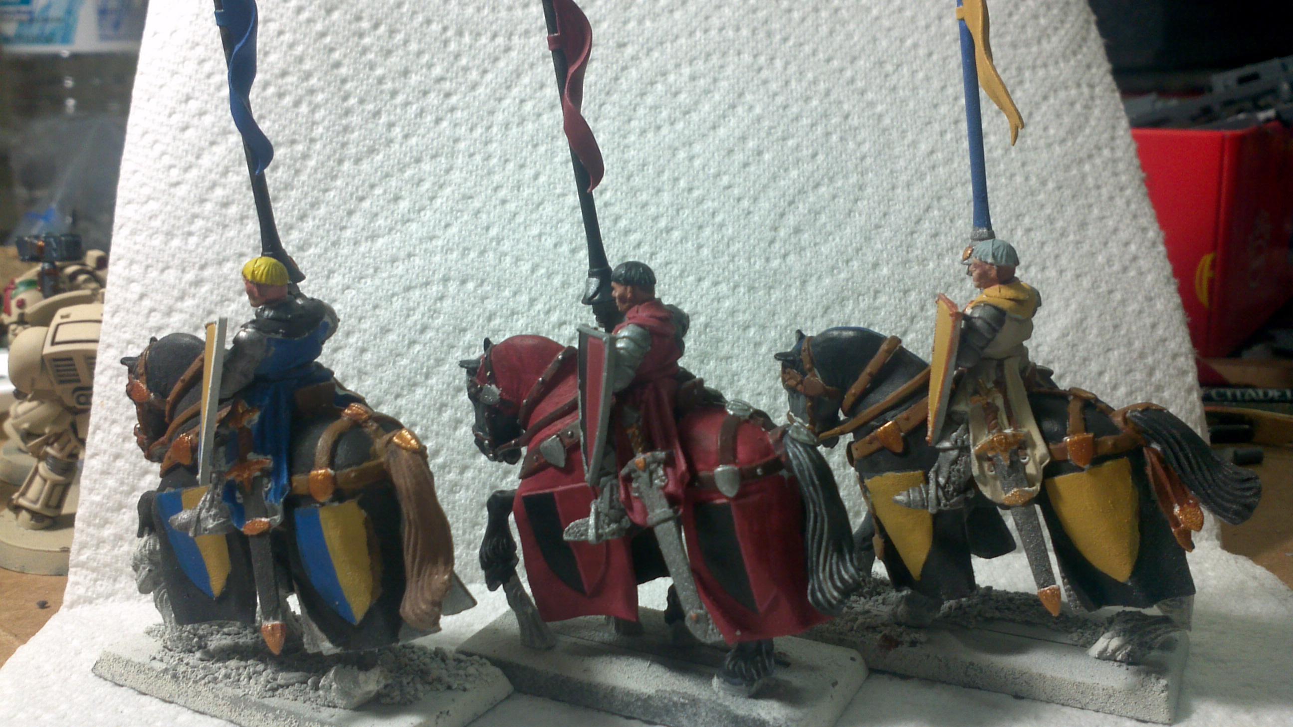 Knights, Warhammer Fantasy, Work In Progress