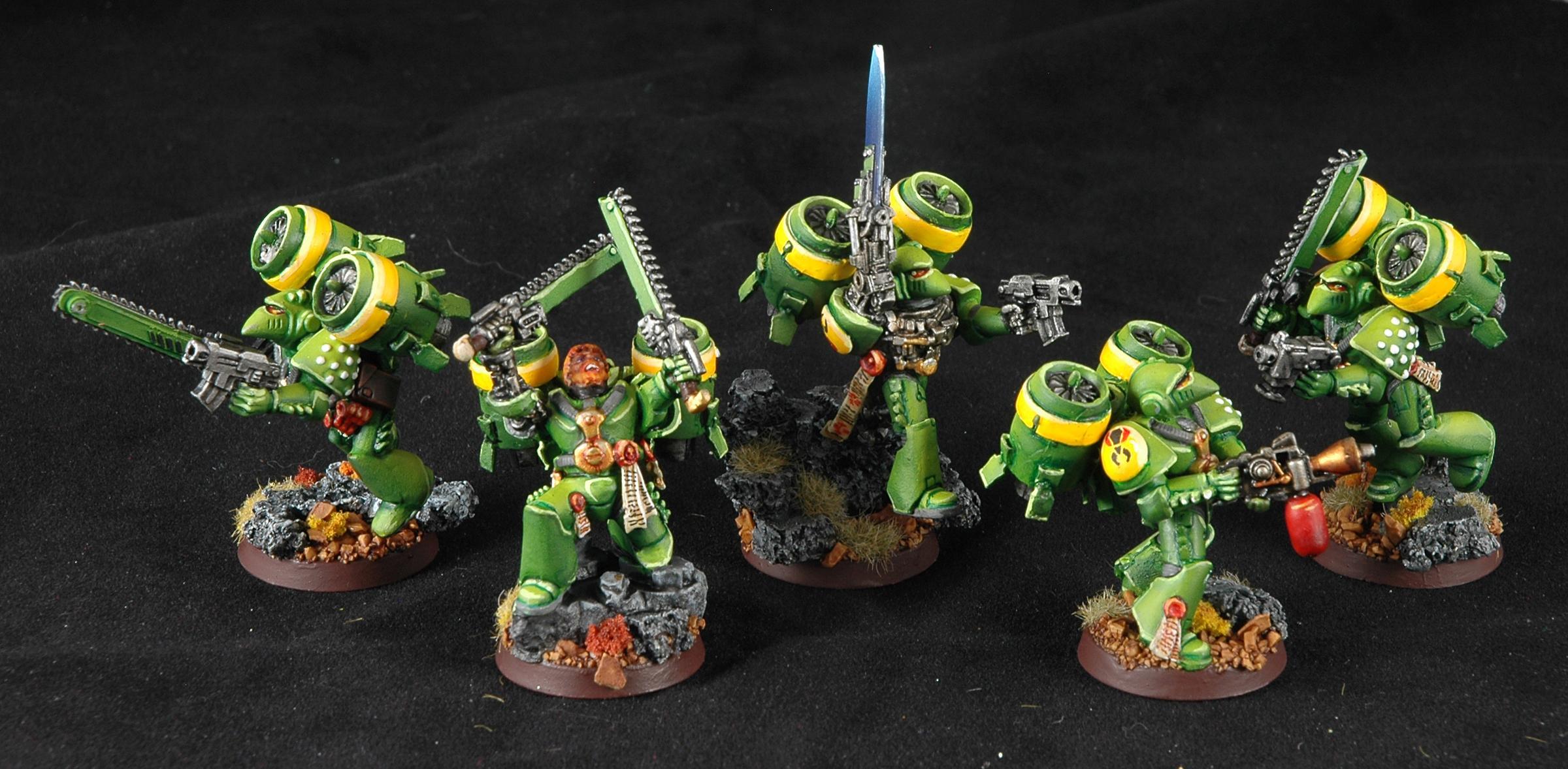 Assault Squad, Mantis Warriors, Space Marines, Warhammer 40,000