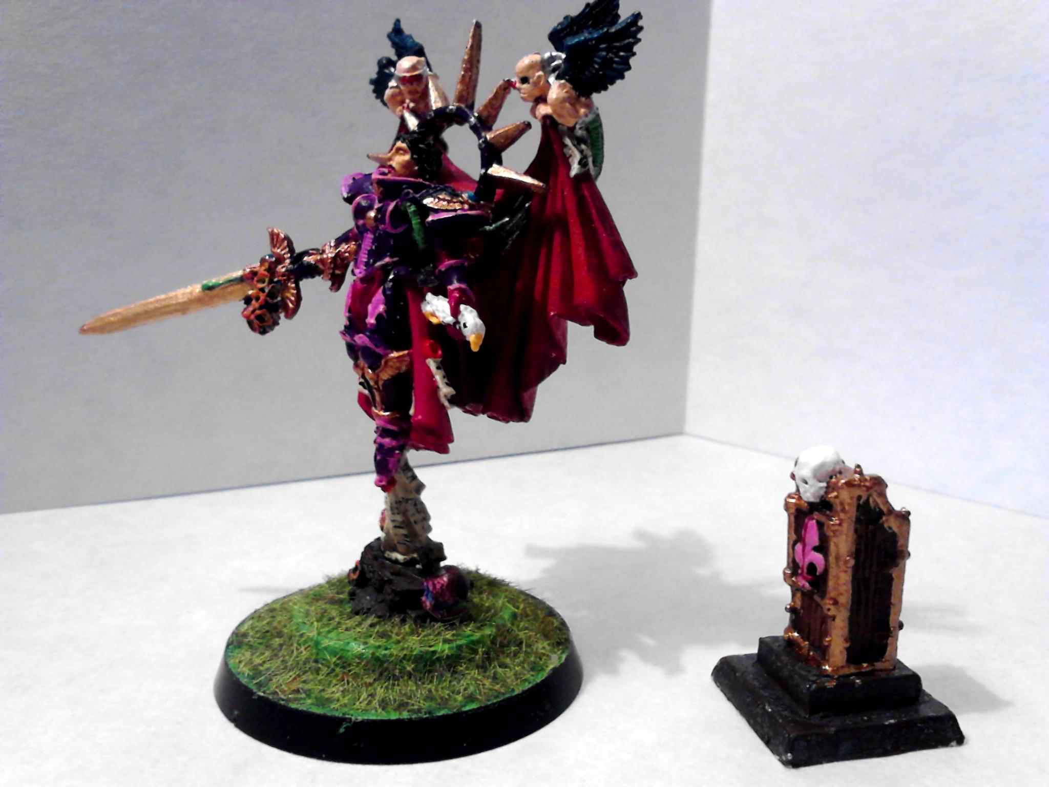 Celestine, Living Saint, Sisters Of Battle