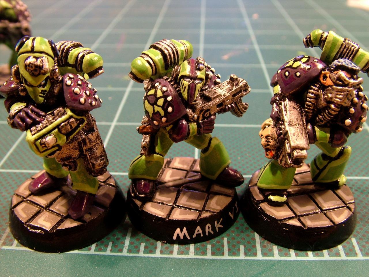 Green Scorpians, Rogue Trader, Space Marines