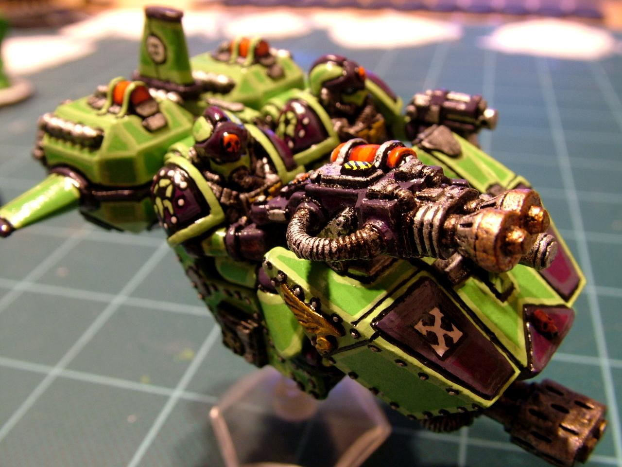 2nd Edition, Green Scorpians, Land Speeder, Space Marines