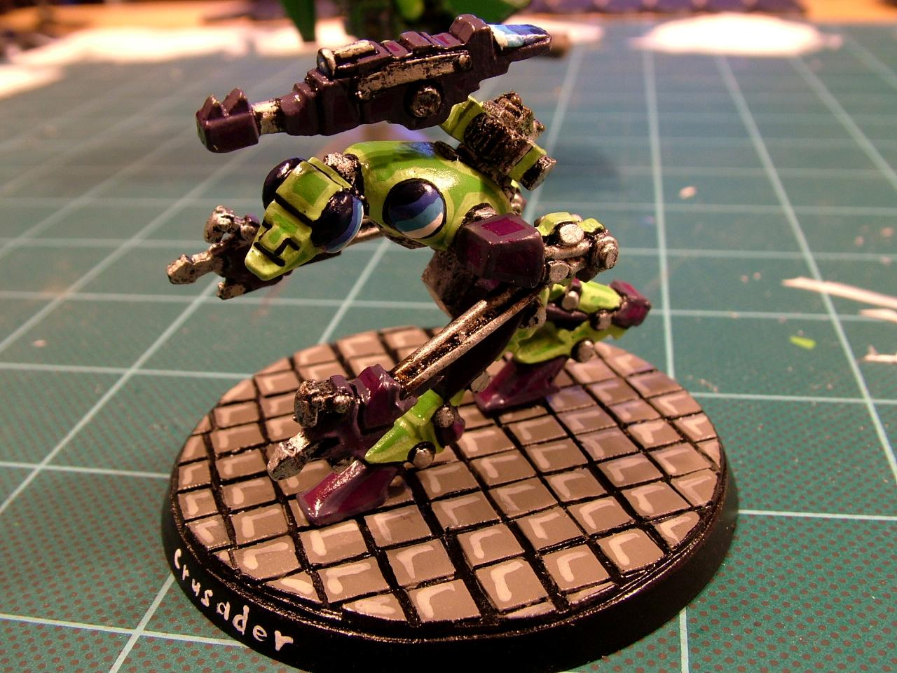 Green Scorpians, Imperial, Robot, Rogue Trader, Space Marines