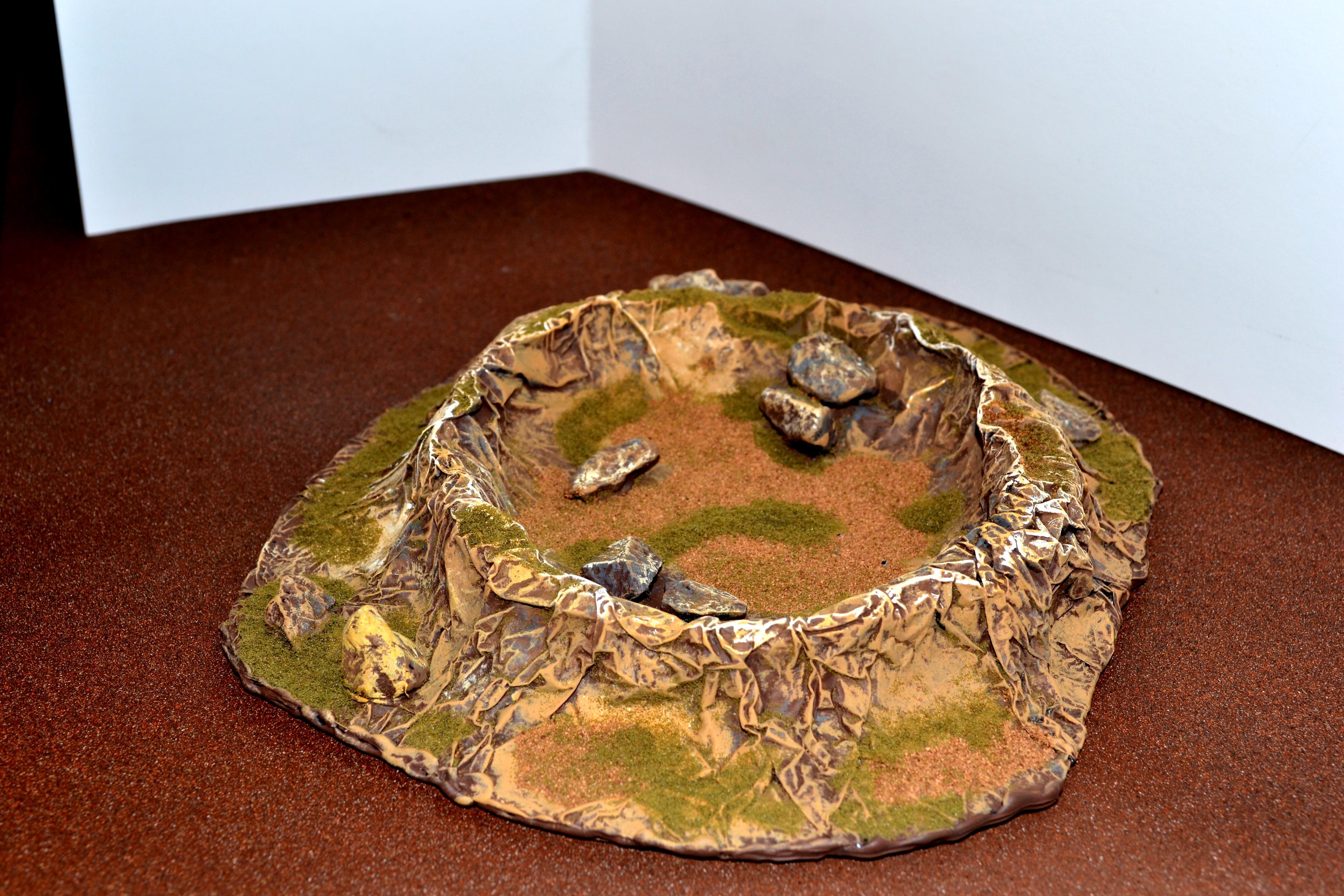 Crater, Orks, Terrain, Warhammer 40,000
