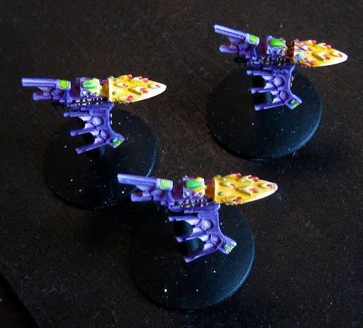 Battlefleet Gothic, Corsairs, Destroyer, Eldar, Nightshade
