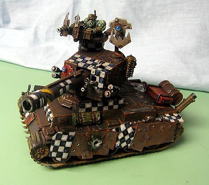 Orks, Tank, Second Ork tank build