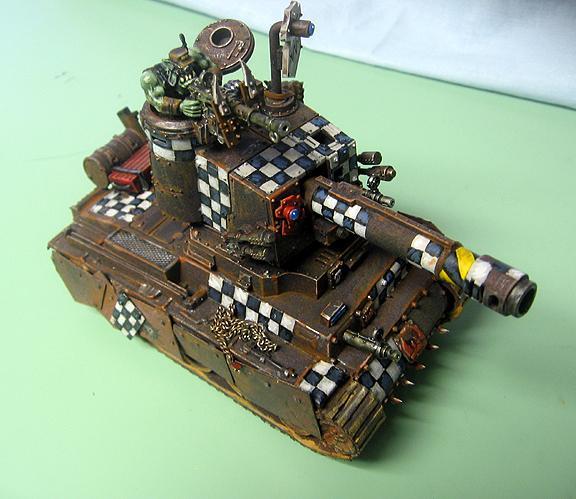 Battlewagon, Orks, Vehicle, Warhammer 40,000, Warhmmer 40000