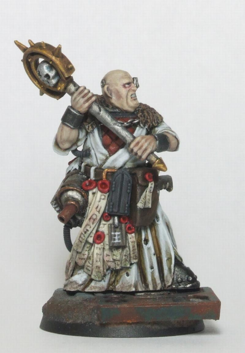 Ecclesiarchy Front, Inquisitor, Priest