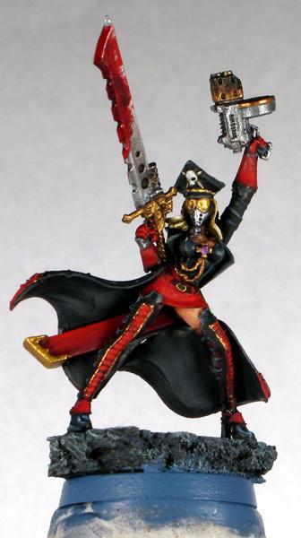 Commissar, Female, Imperial Guard, Raging Heroes
