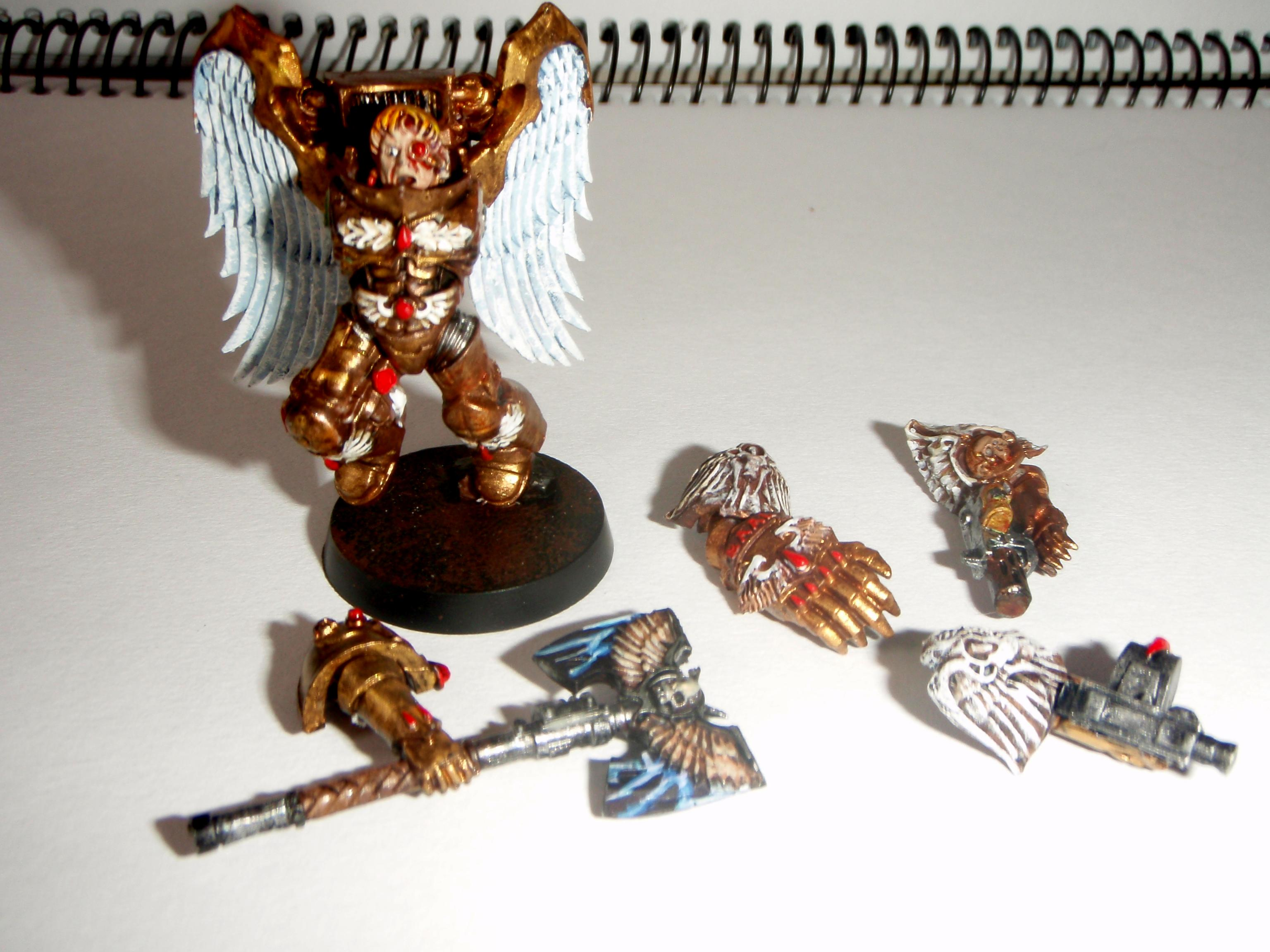 Blood Angels, Gold, Thin Your Paints, Warhammer 40,000