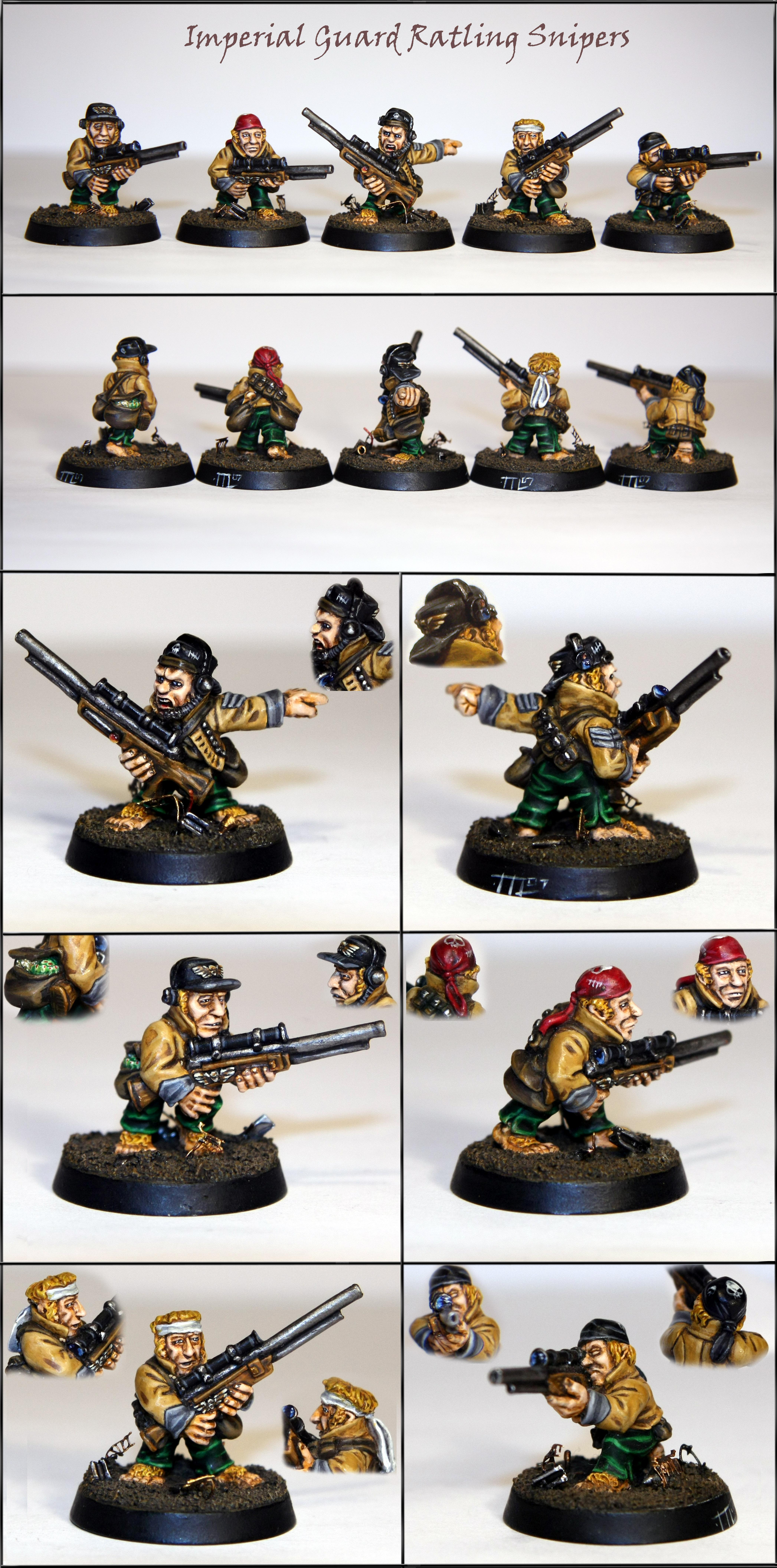 Imperial Guard, Out Of Production, Ratlings, Snipers