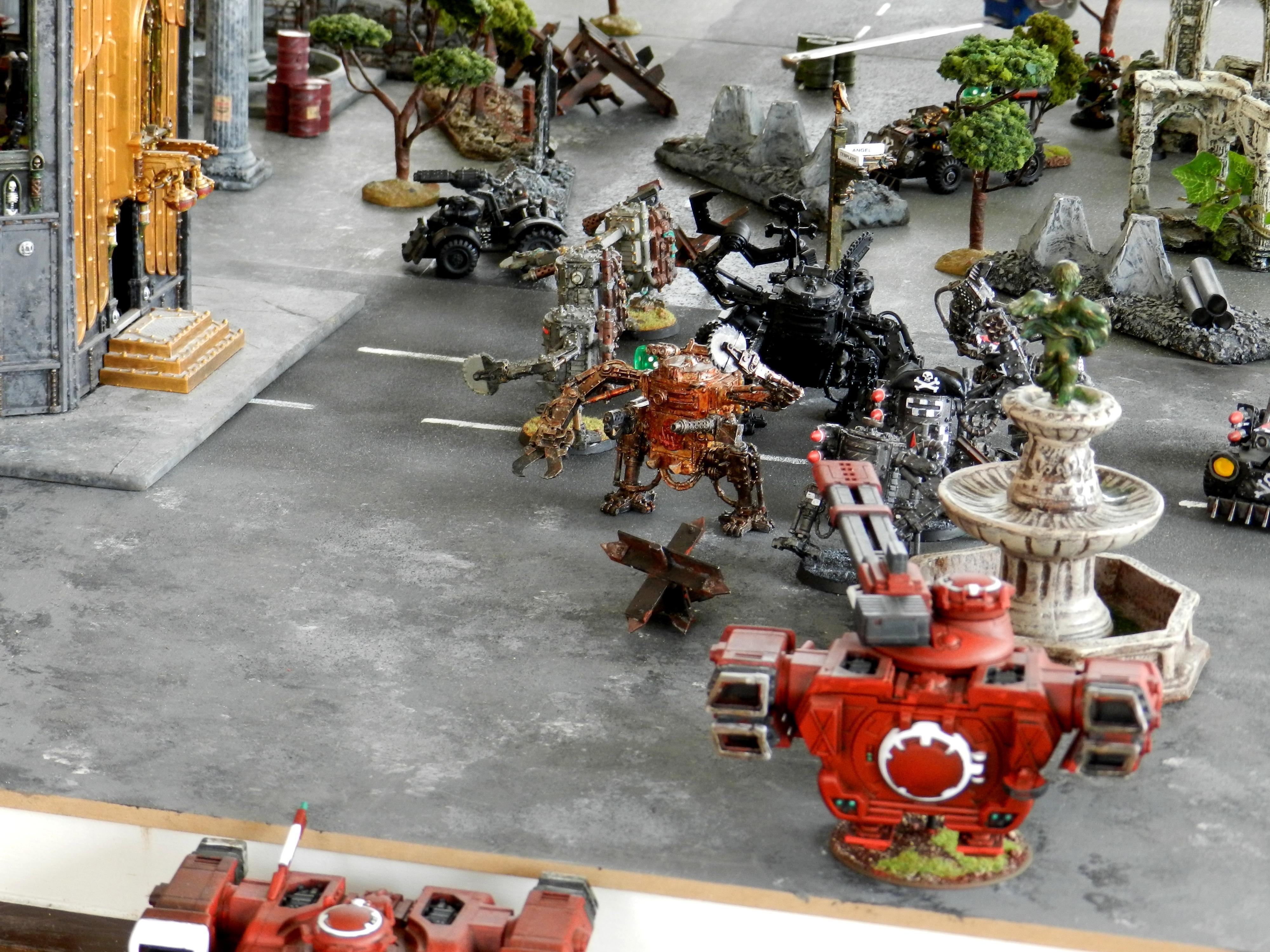 Apocalypse, Black Templars, Chaos, Orks, Tau