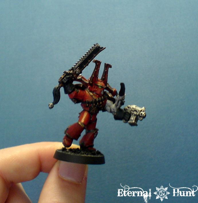 Chaos Space Marines, Conversion, Khorne, Warhammer 40,000, World Eaters