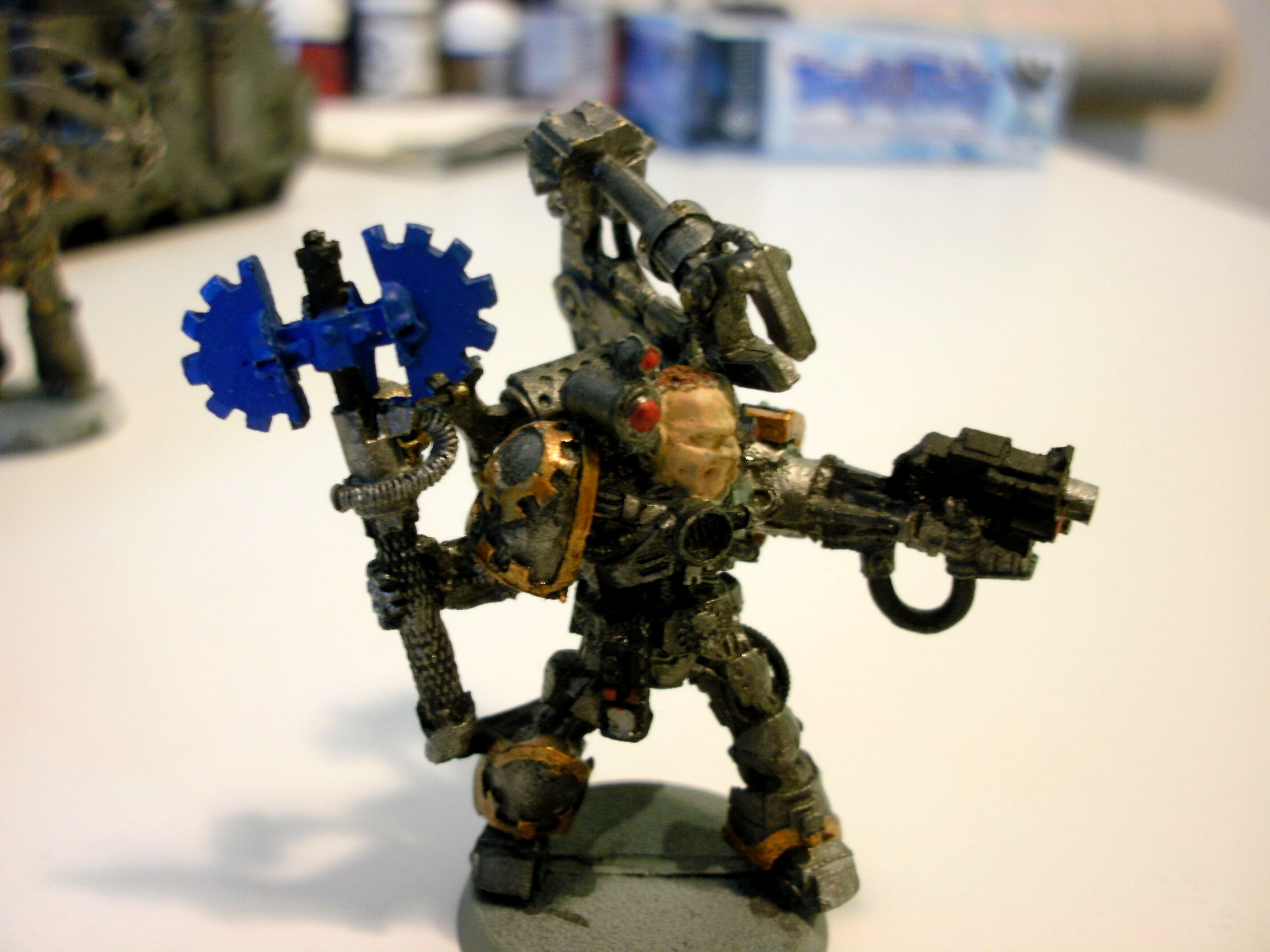 Tech Priest, Warhammer 40,000