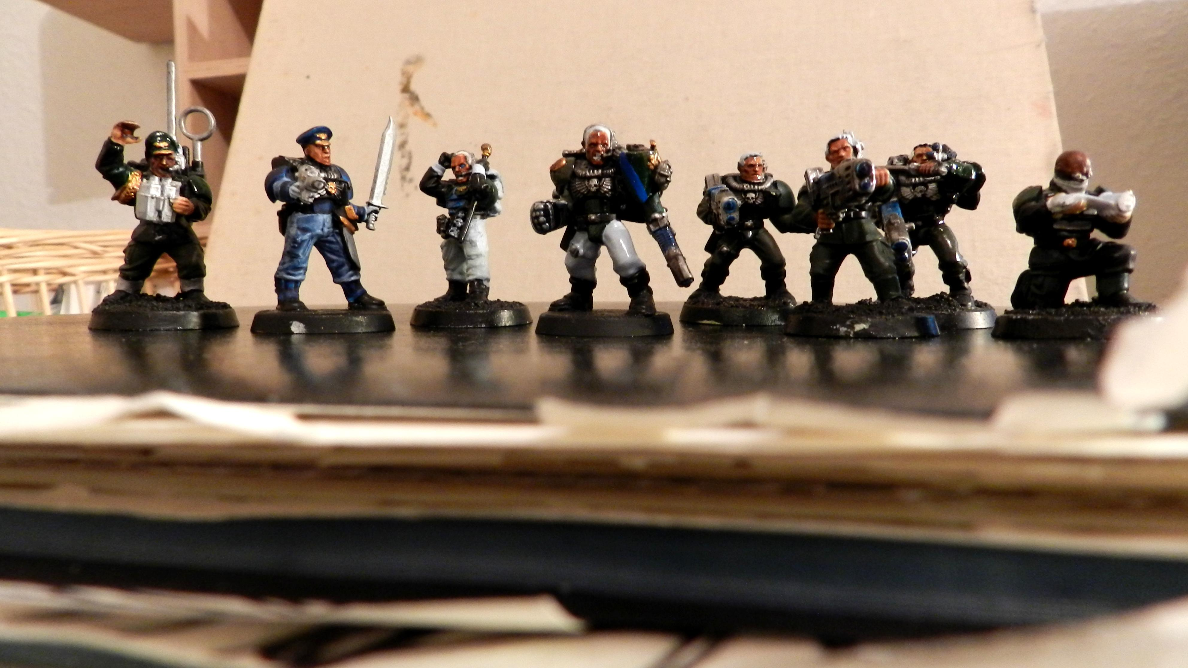 Command Squad, Imperial Guard, Officers
