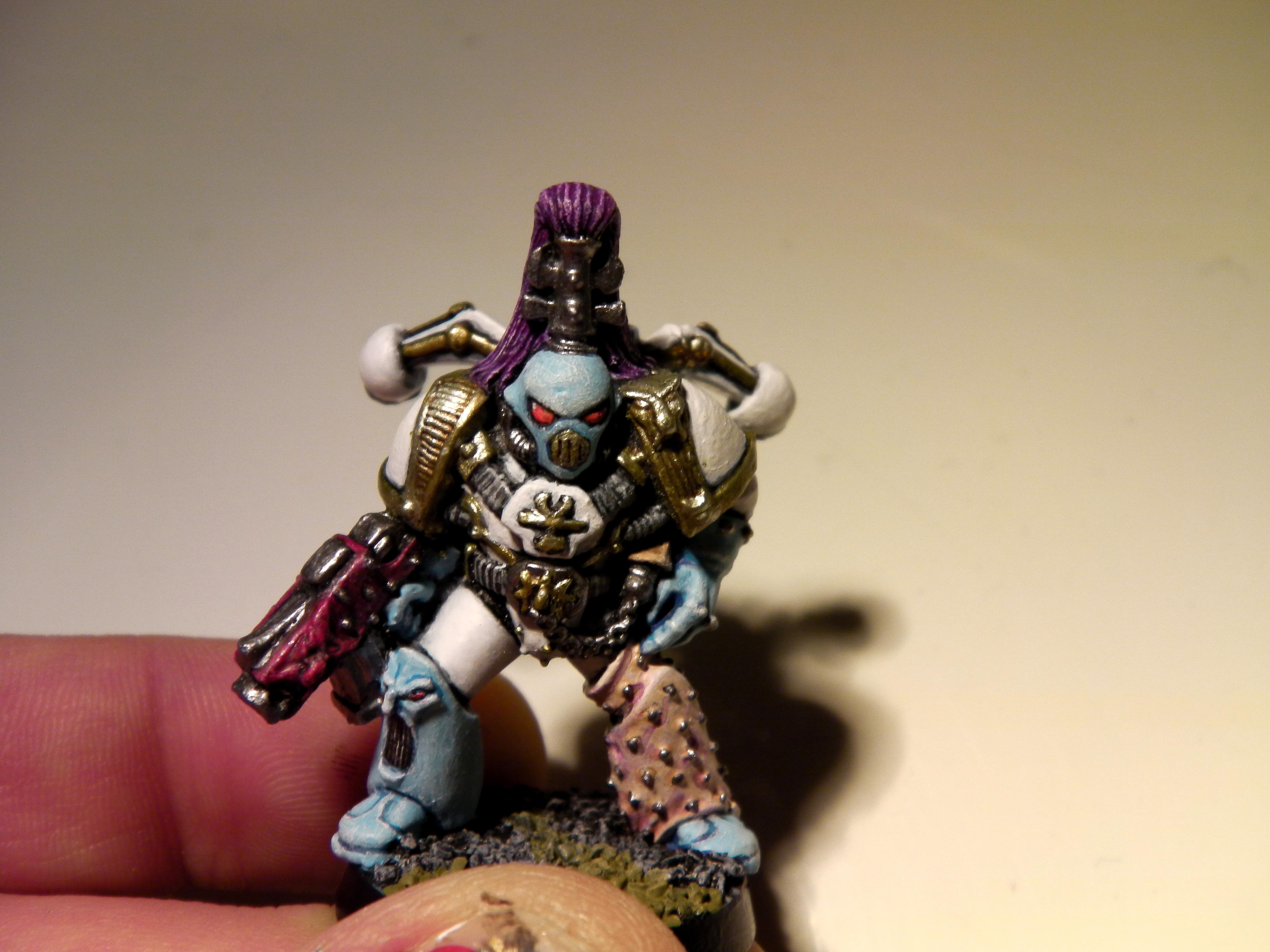 Chaos, Painting, Sceheme, Slaanesh, Space, Space Marines, Test