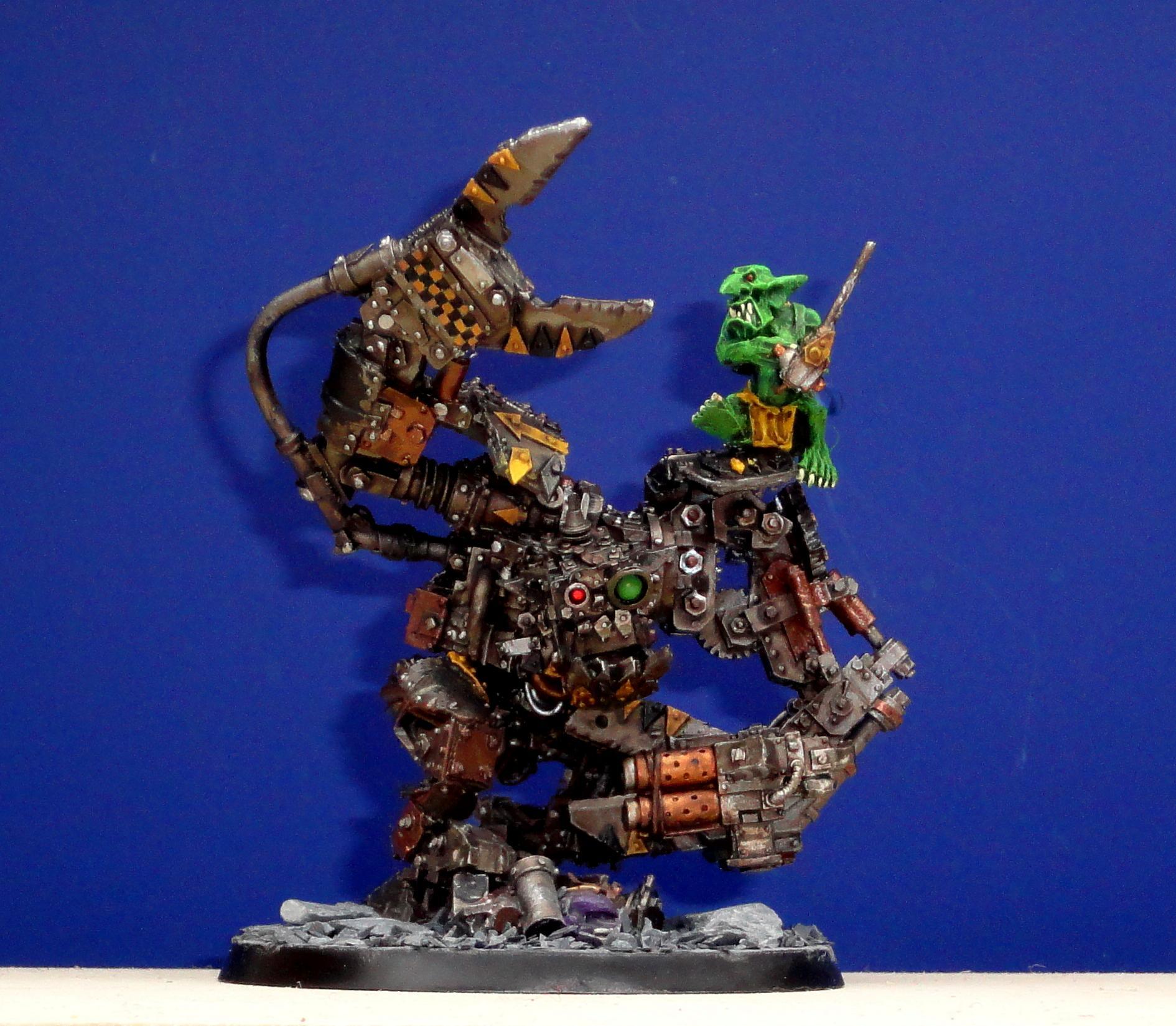 Bad, Big, Bot, Drinker, Forge World, Gretchin, Grots, Mekboy, Moon, Orks, Power, Runt, Runtbot, Soul, Space, Warboss