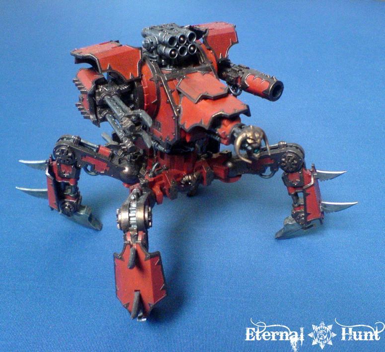 Conversion, Daemon Engine, Defiler, Khorne, Walker, Warhammer 40,000, World Eaters