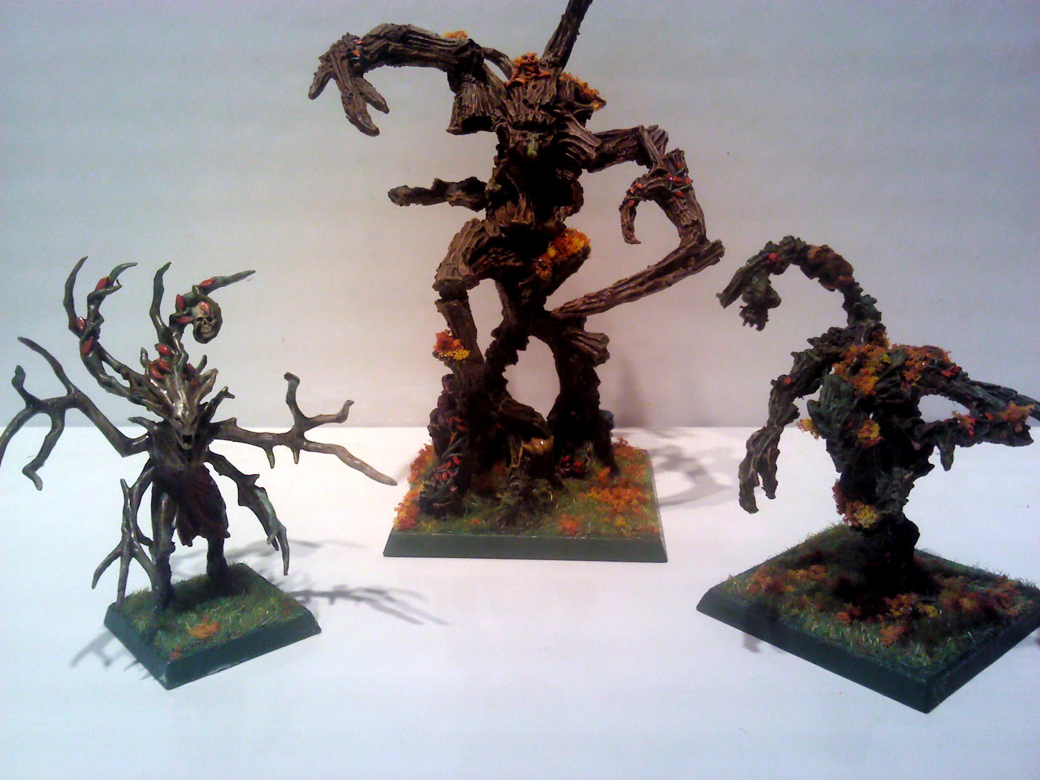 Dryad, Treekin, Treeman, Wood Elves