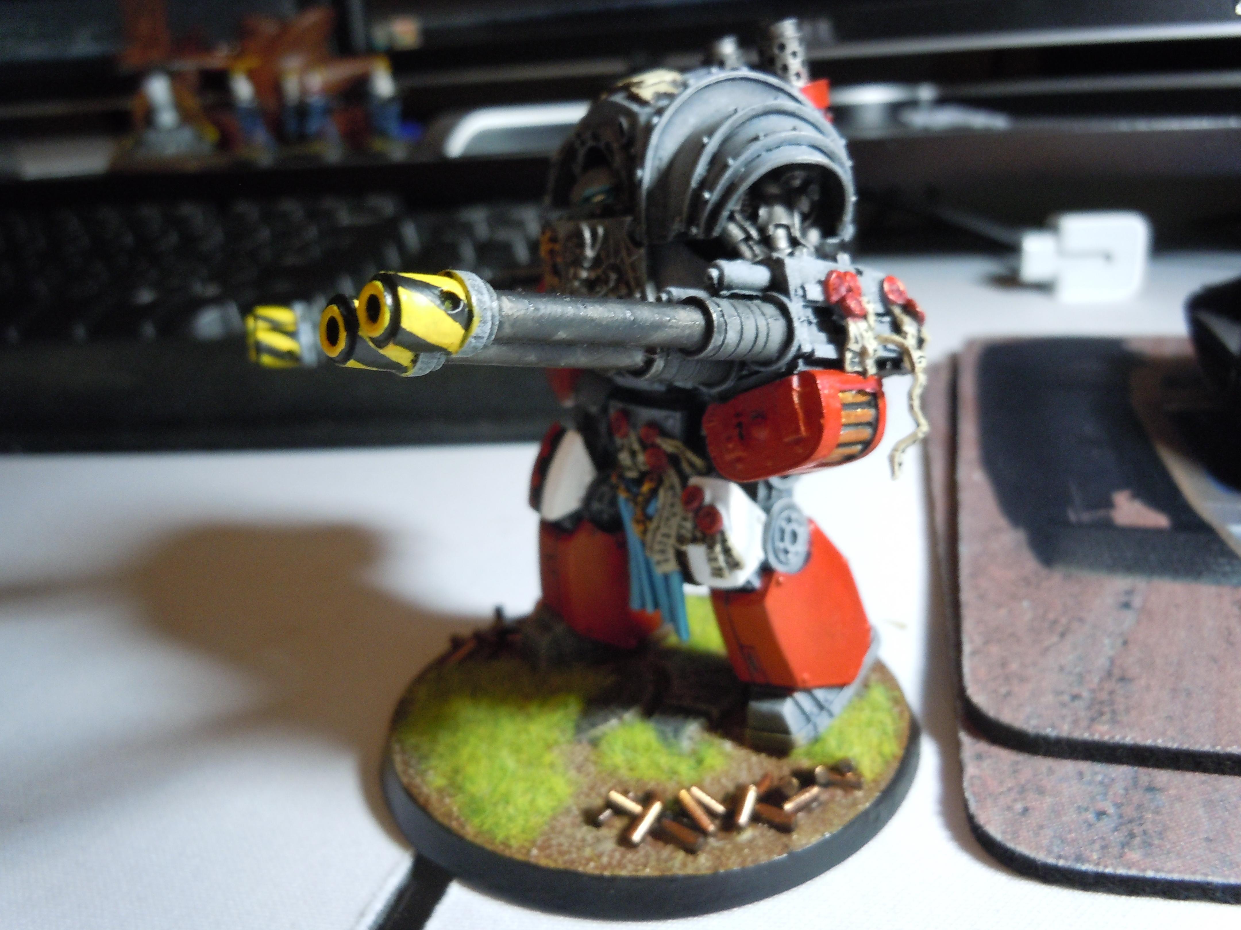 Contemptor, Dreadnought, Grey Knights, Puppets War