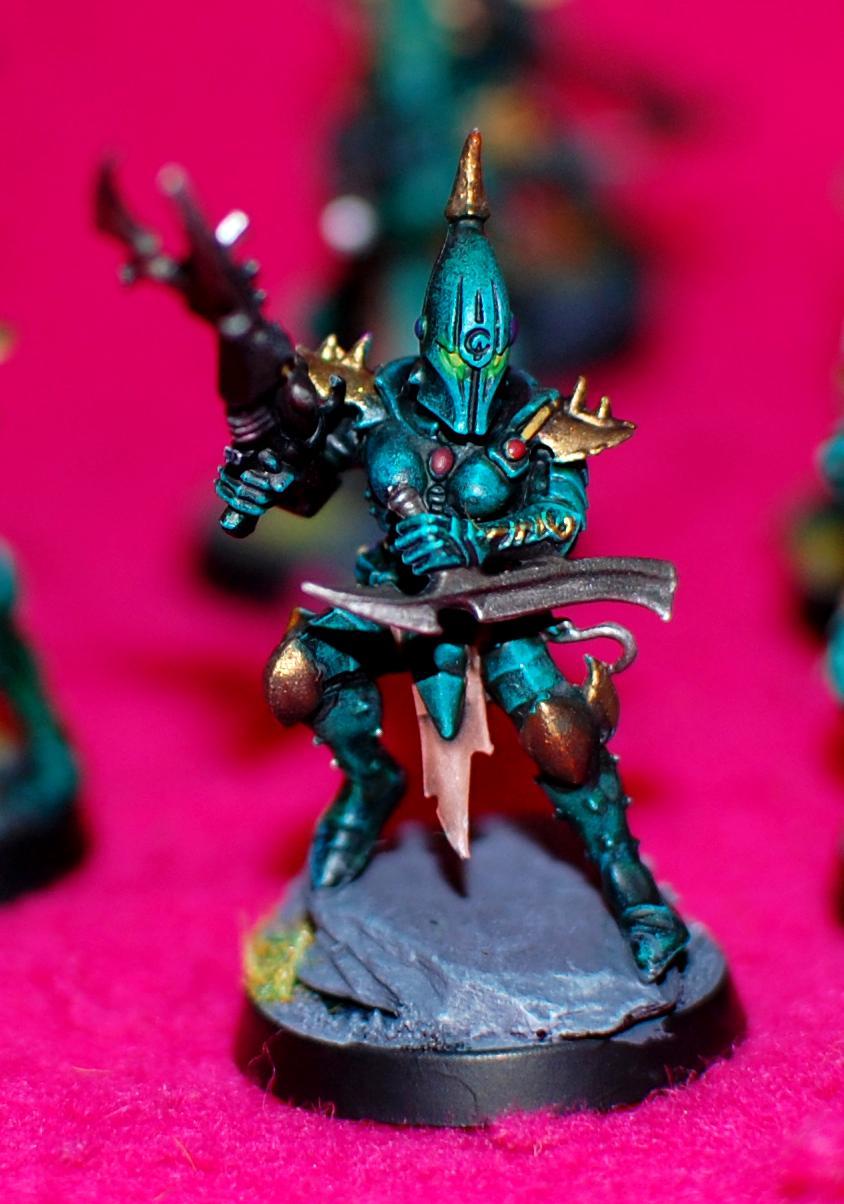 Blue, Dark Eldar, Dracon, Green