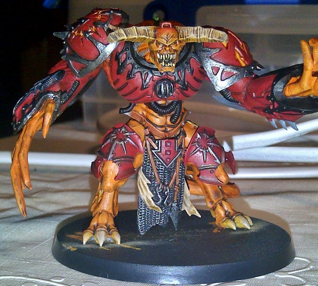 Chaos, Daemon Prince, Warhammer 40,000, Word Bearers, Work In Progress