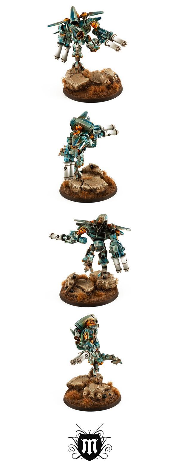 Battlesuit, Forge World, Tau