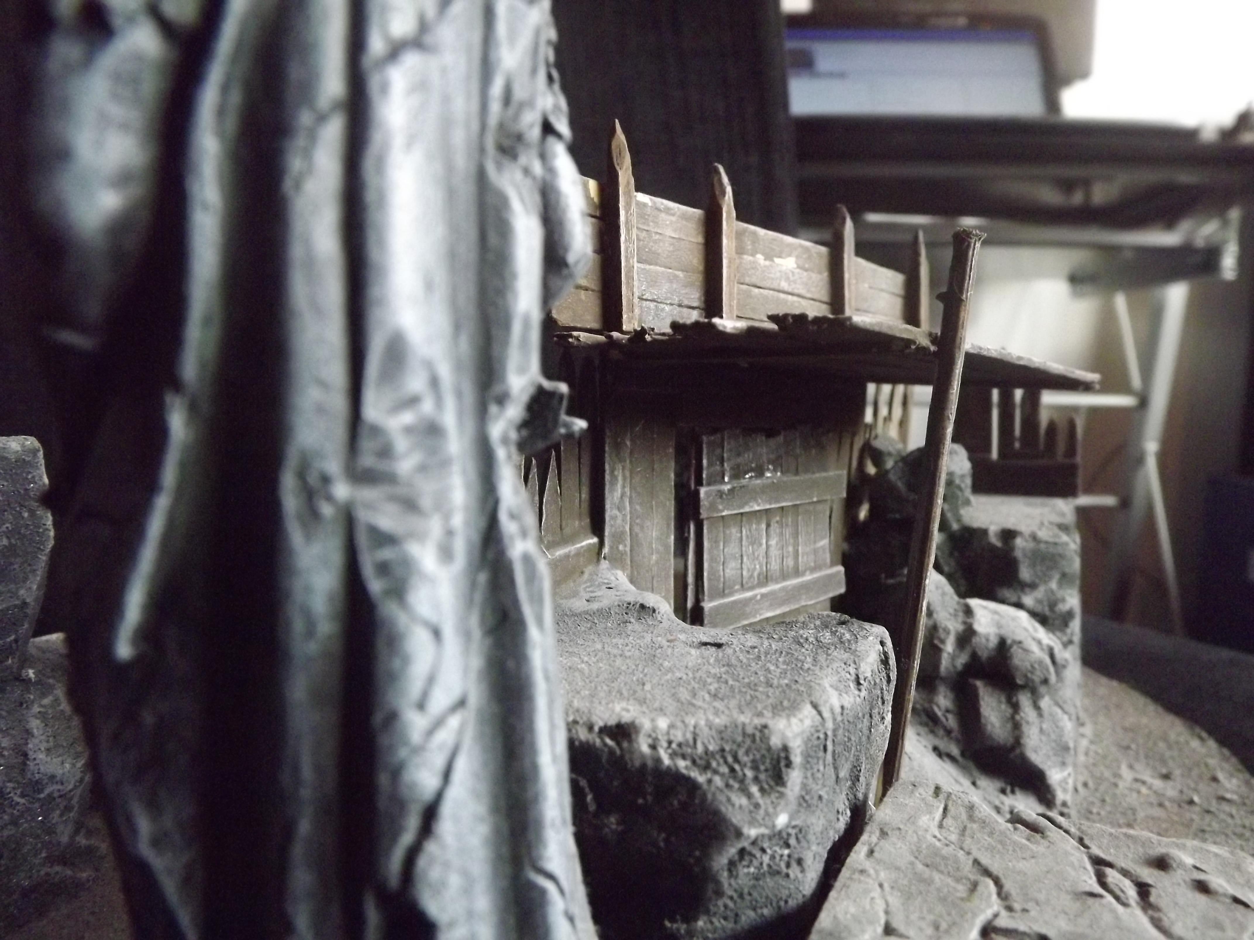 Castle, Dwarven, Dwarves, Fort, Statue