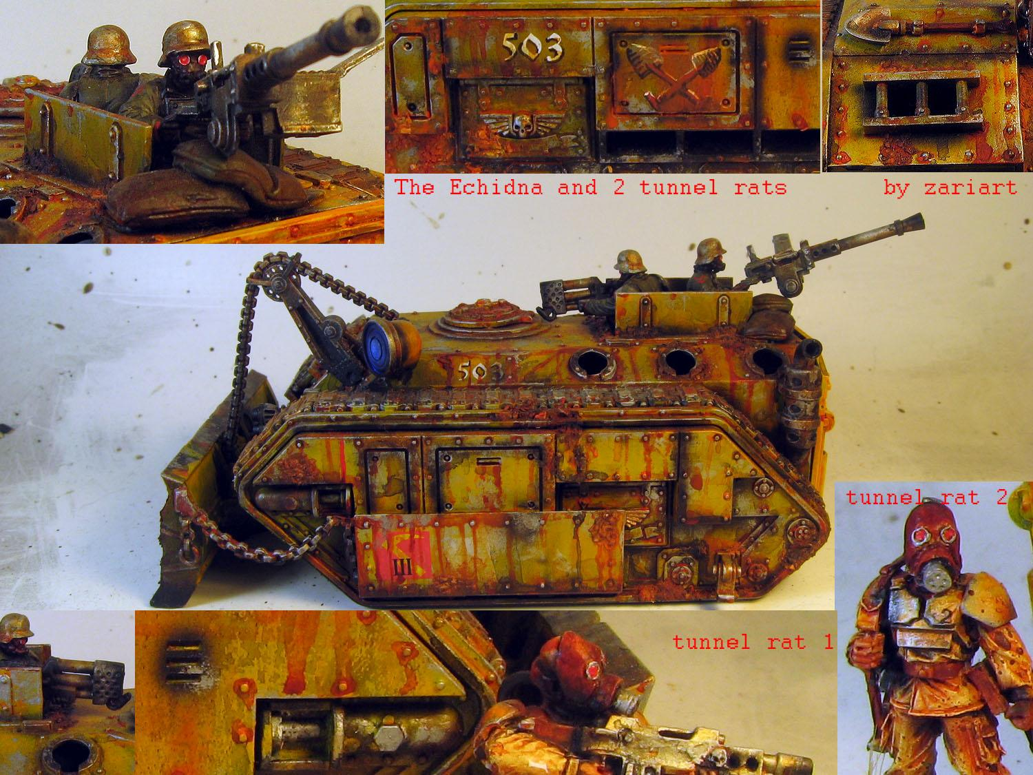 Chimera, Damage, Dirty, Echidna, Gas Mask, Heretics, Imperial Guard, Miners, Rust