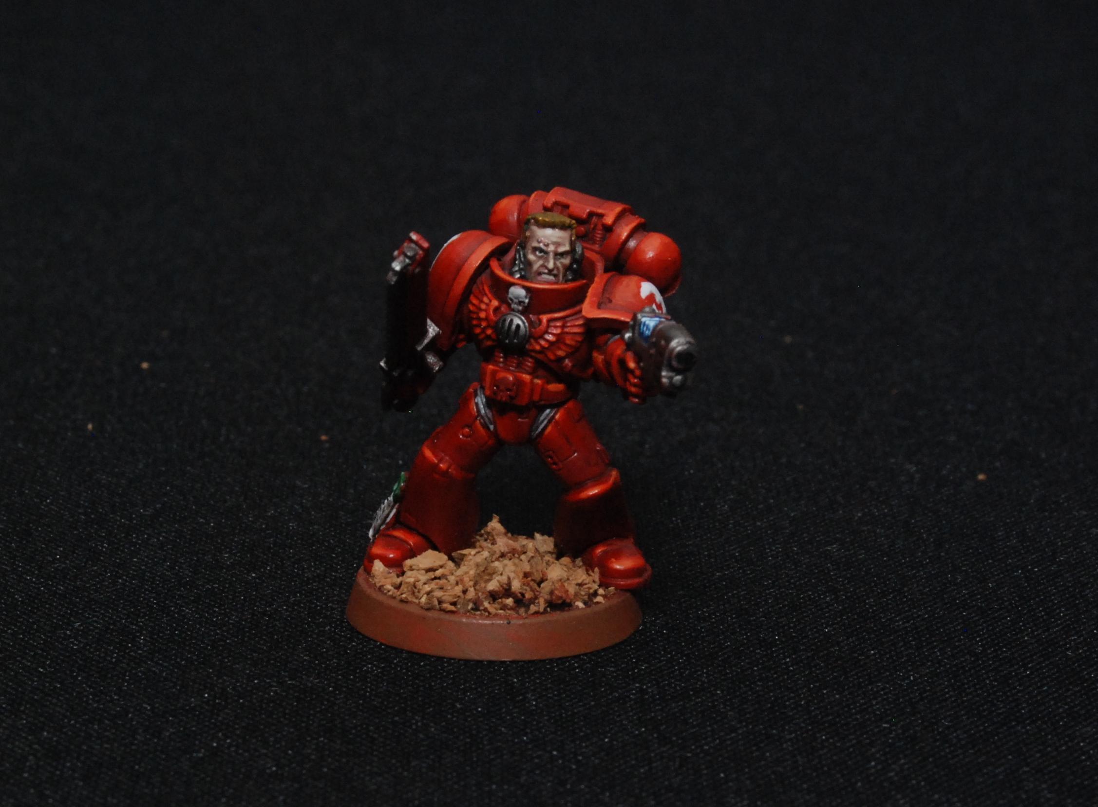 Blood Angels, Flesh Eater, Sargant, Space Marines